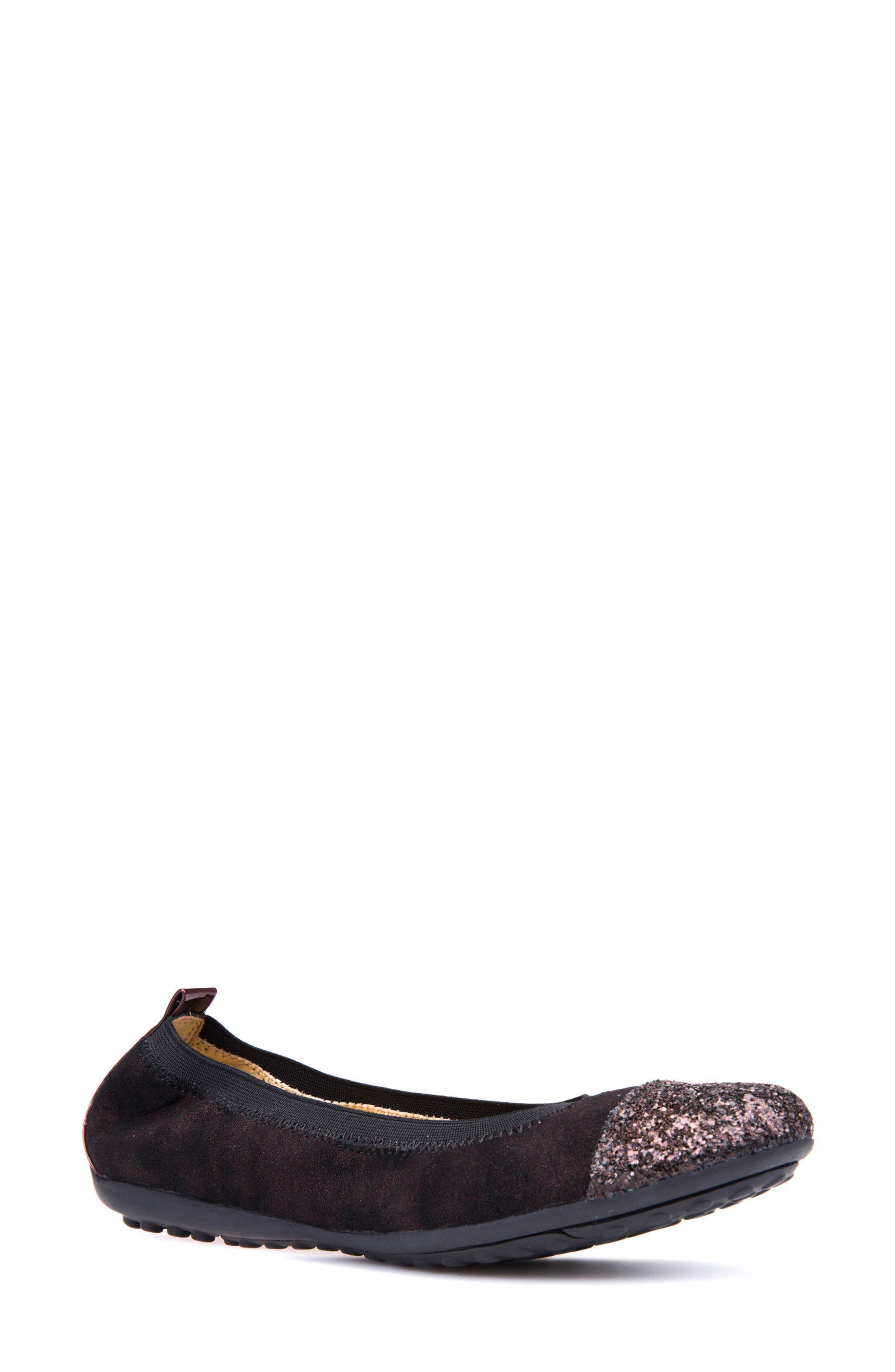 Geox Piuma Cap Toe Ballet Flat (Women)