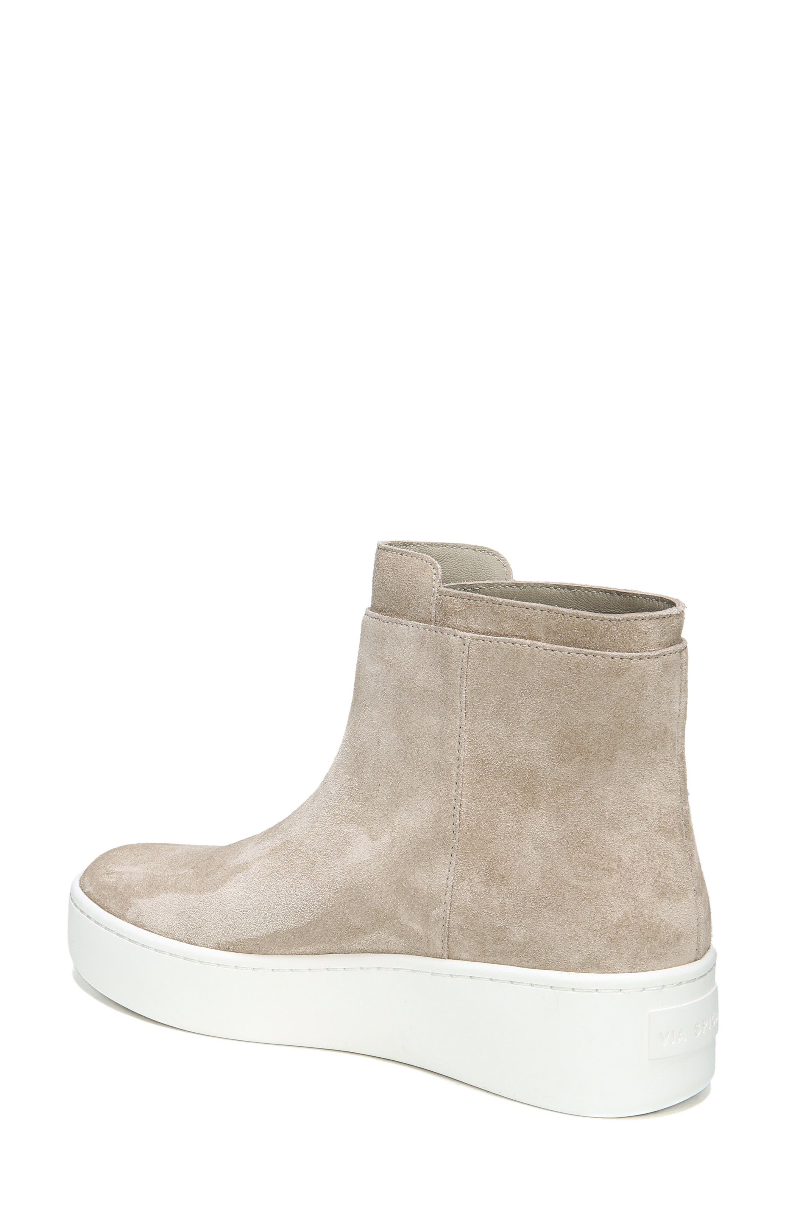 Alternate Image 2  - Via Spiga Easton High Top Sneaker (Women)