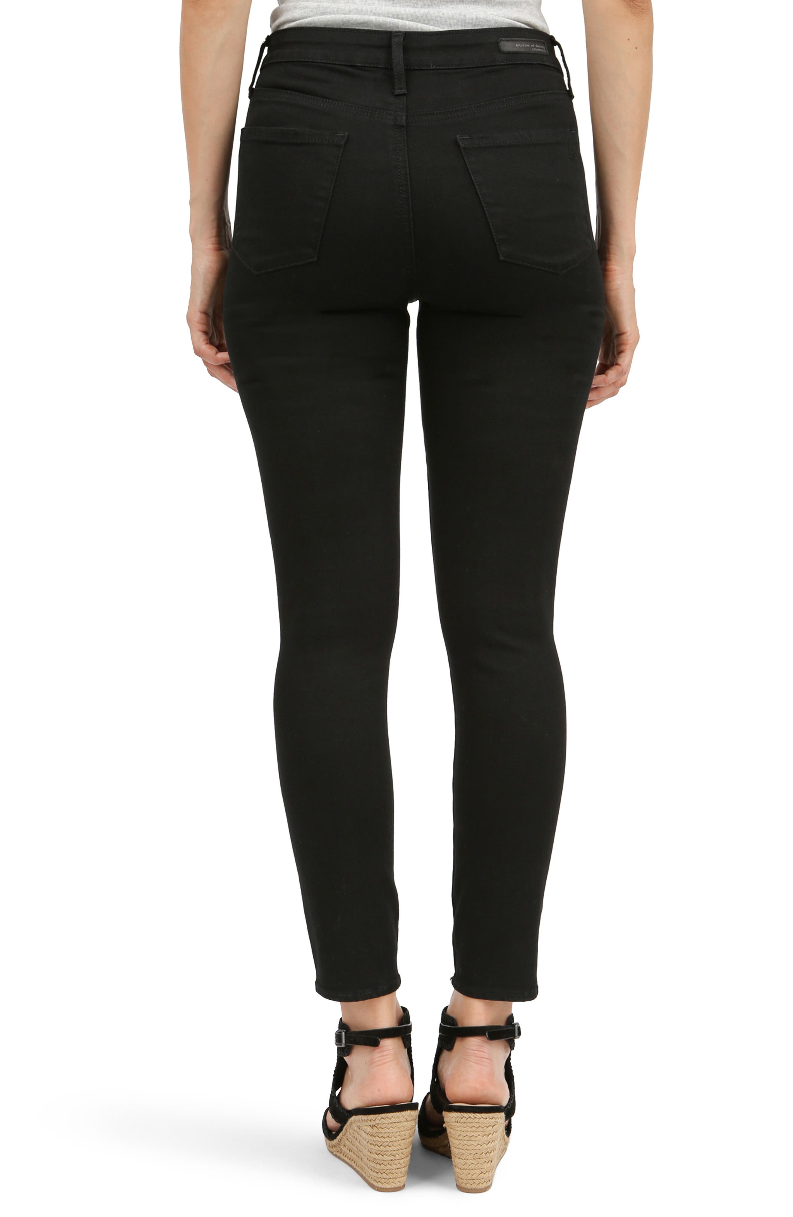 Alternate Image 2  - Articles of Society Heather High Waist Jeans