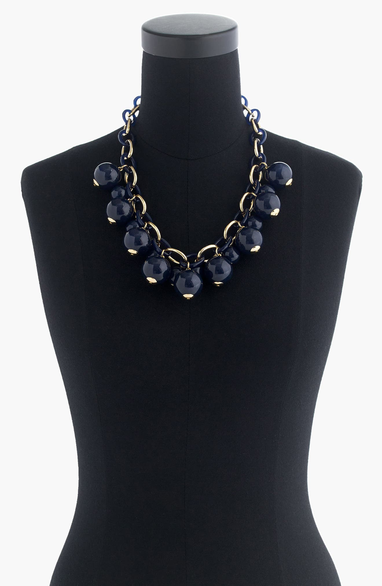 J.Crew Beaded Link Necklace