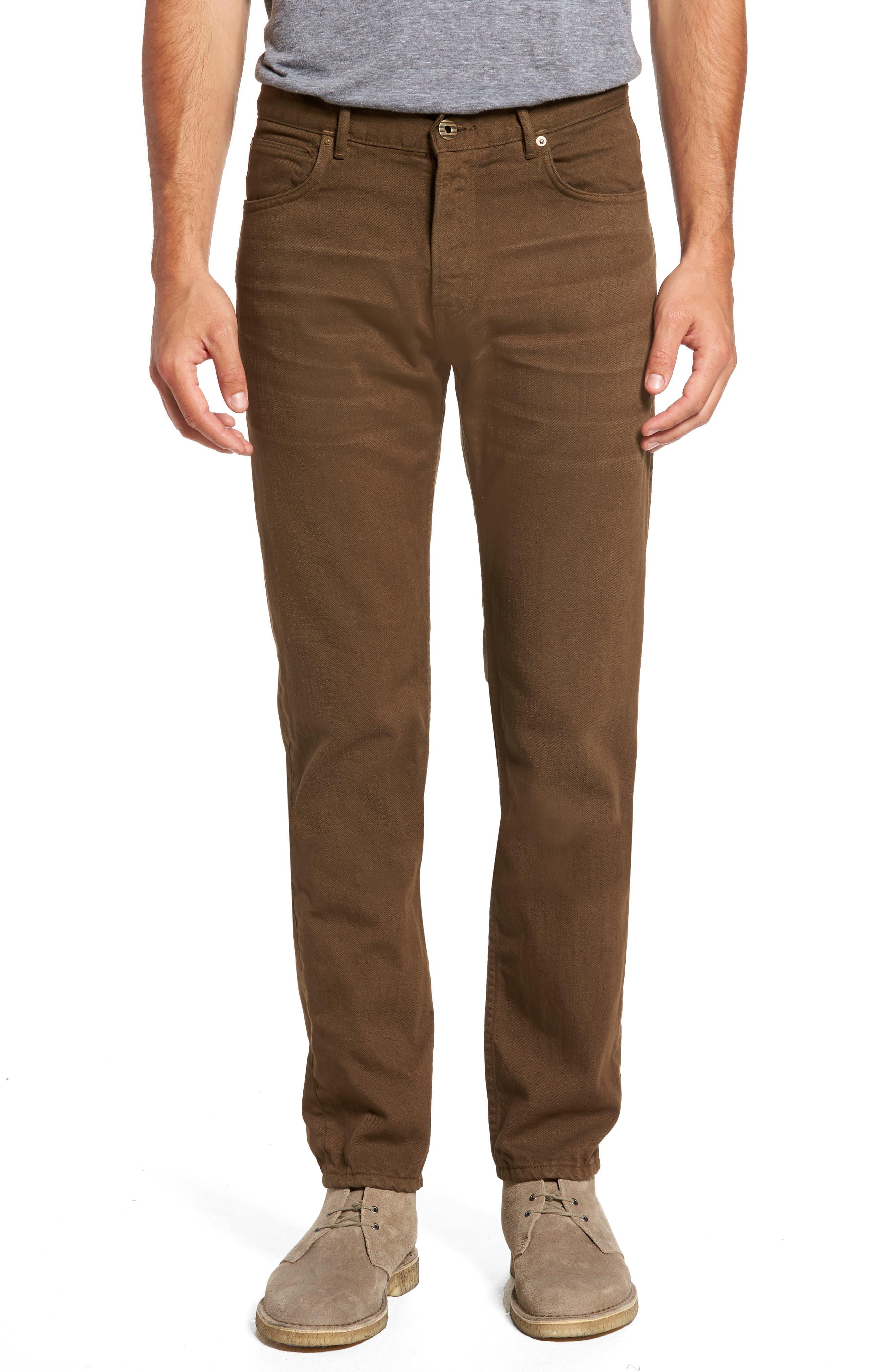 Billy Reid Slim Straight Leg Pants