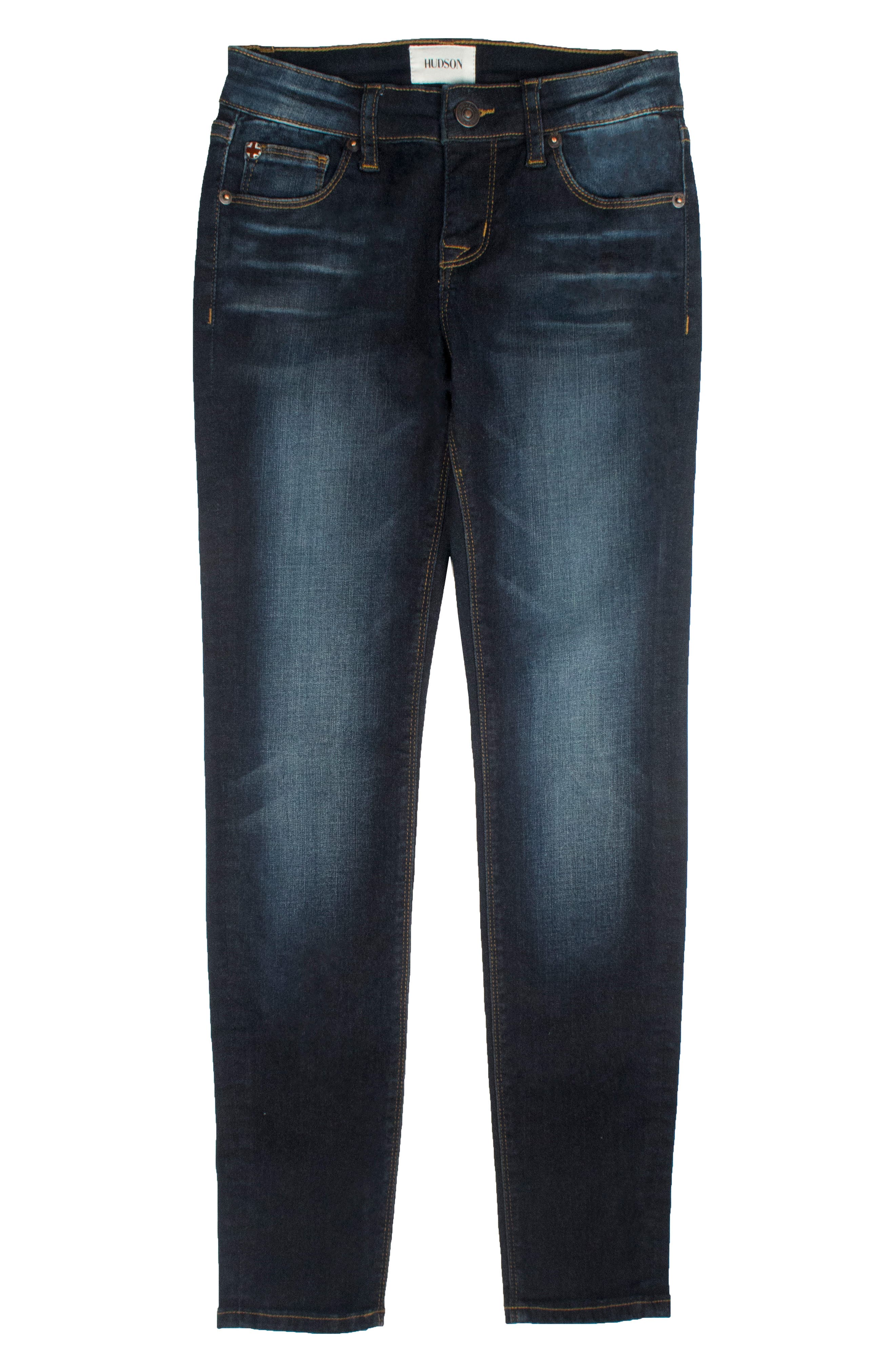 Christa Super Stretch Skinny Jeans,                         Main,                         color, Northern Light