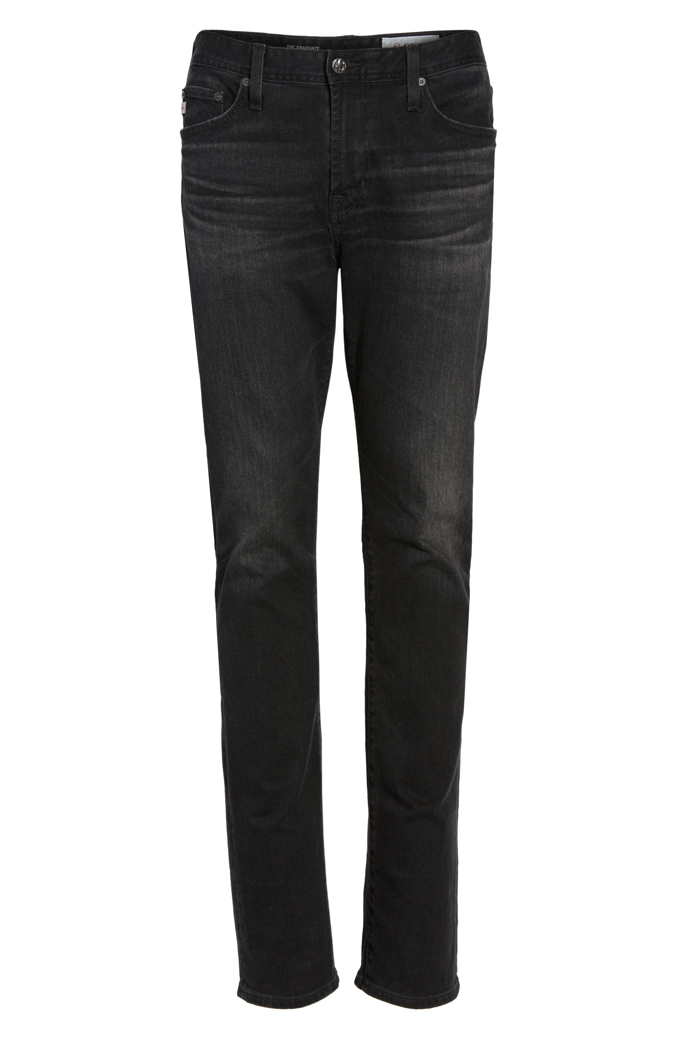 Everett Slim Straight Leg Jeans,                             Alternate thumbnail 7, color,                             4 Years Down
