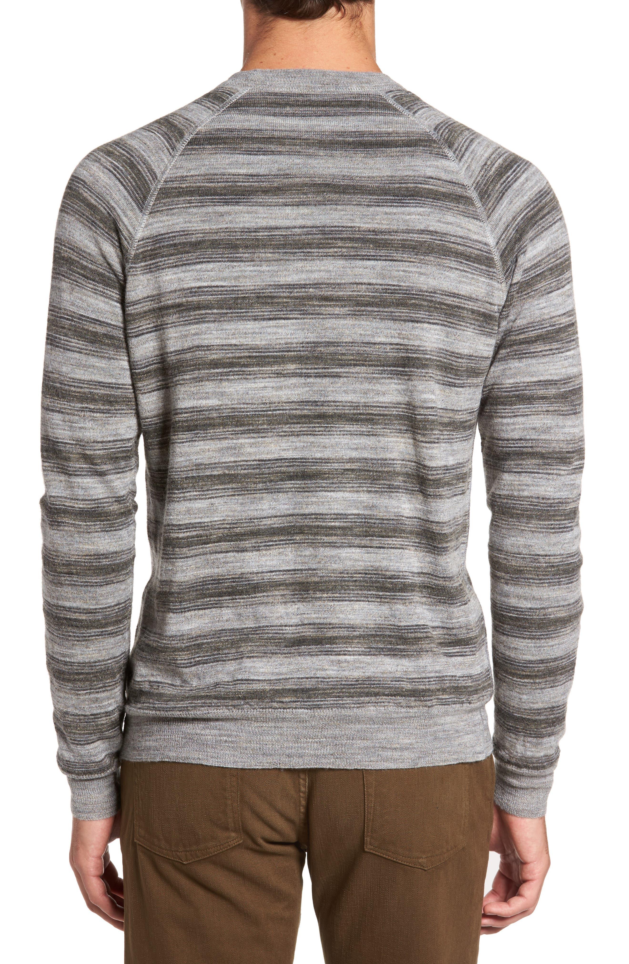 Alternate Image 2  - Billy Reid Reverse Stripe Sweater