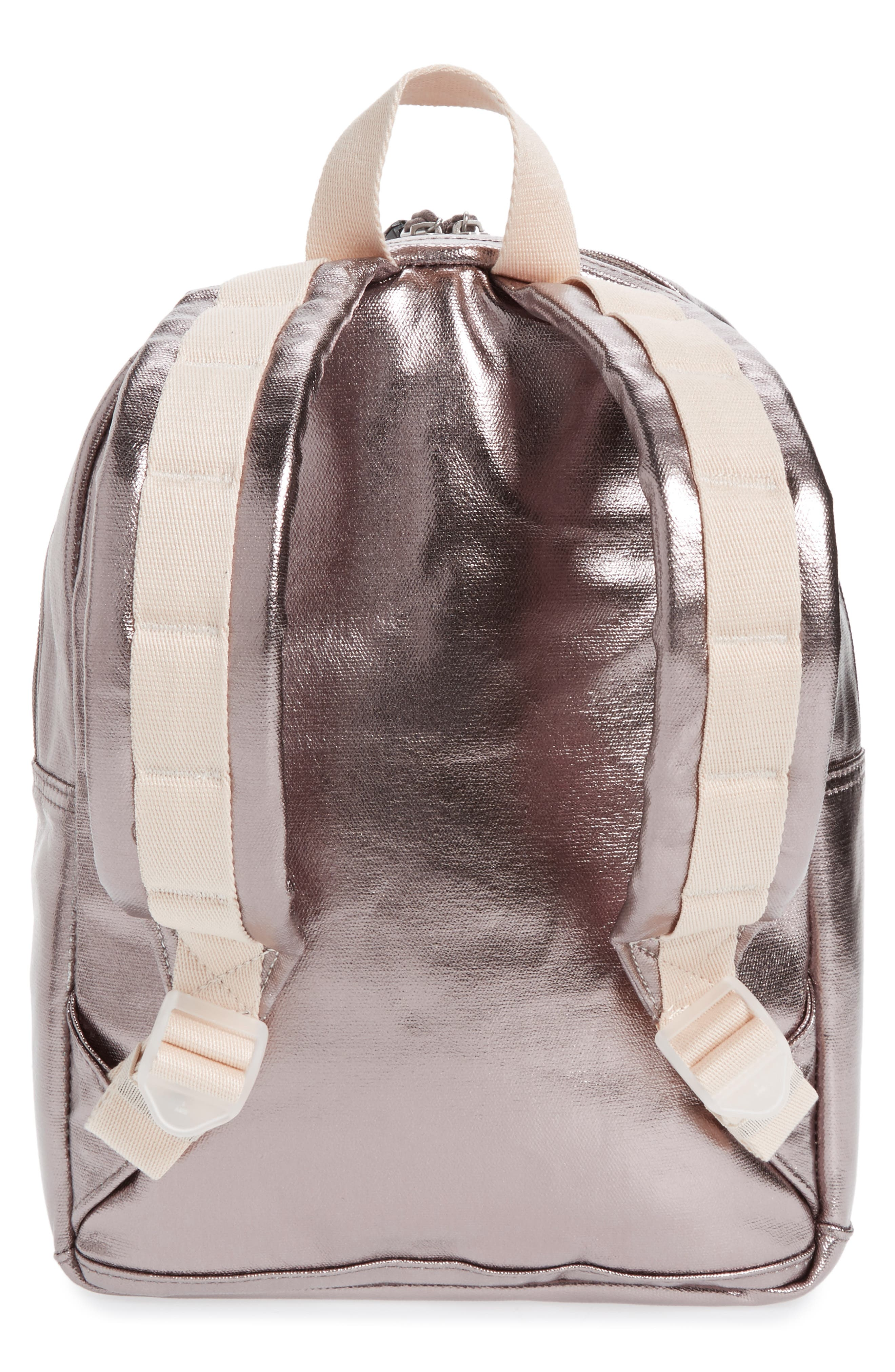 Mini Kane Backpack,                             Alternate thumbnail 3, color,                             Chrome