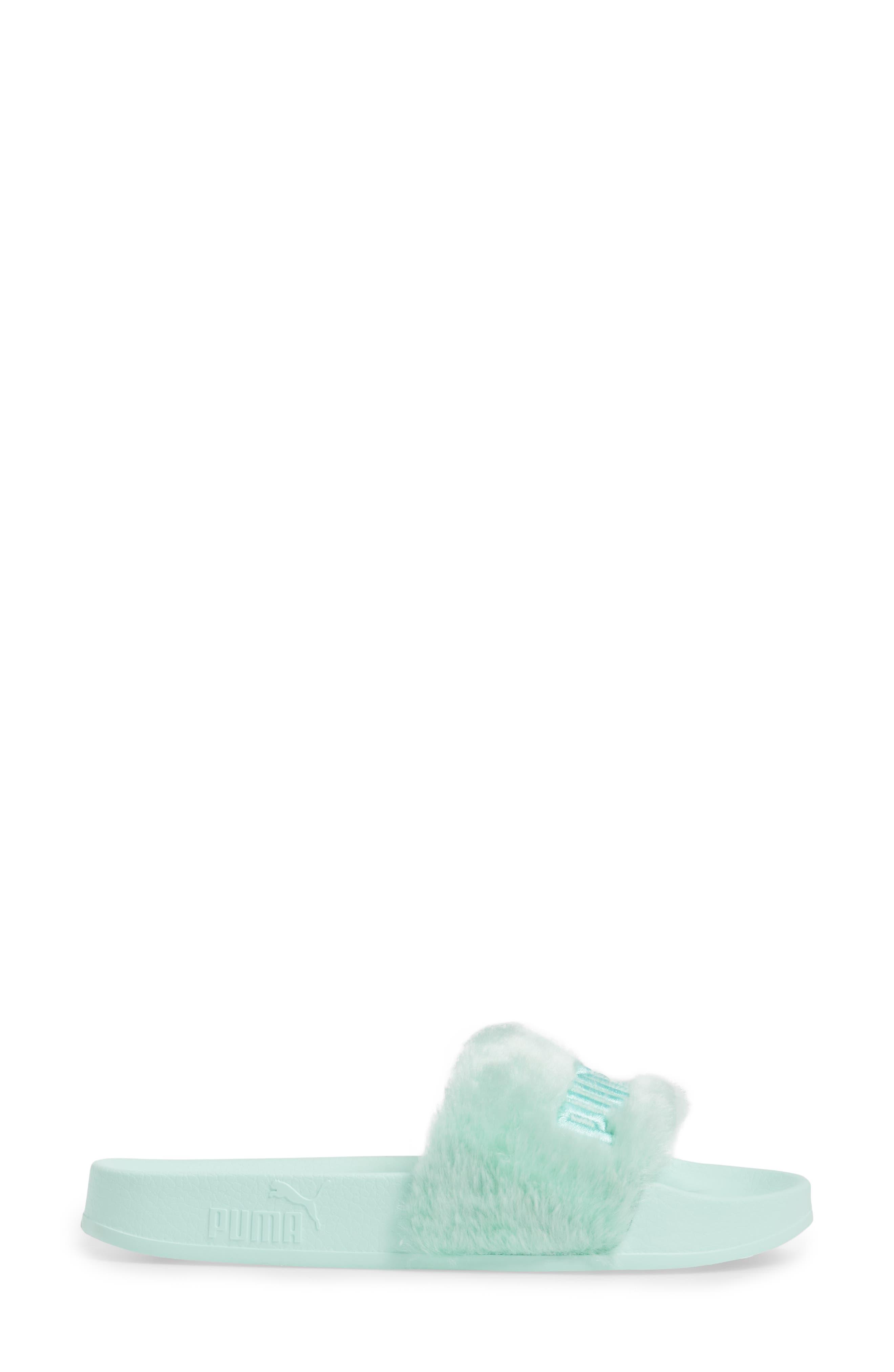Alternate Image 3  - FENTY PUMA by Rihanna 'Leadcat Fenty' Faux Fur Slide Sandal (Women)