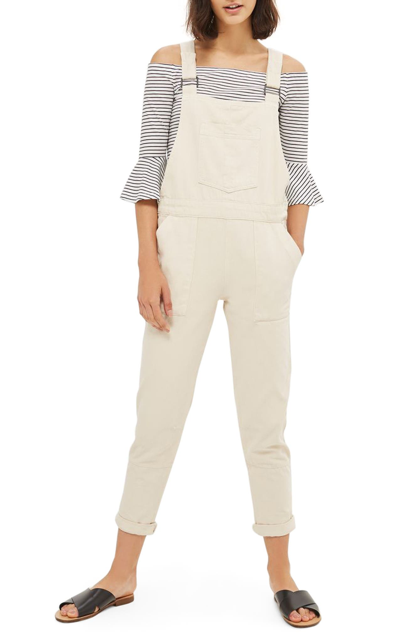 Topshop Leon Slouch Utility Overalls
