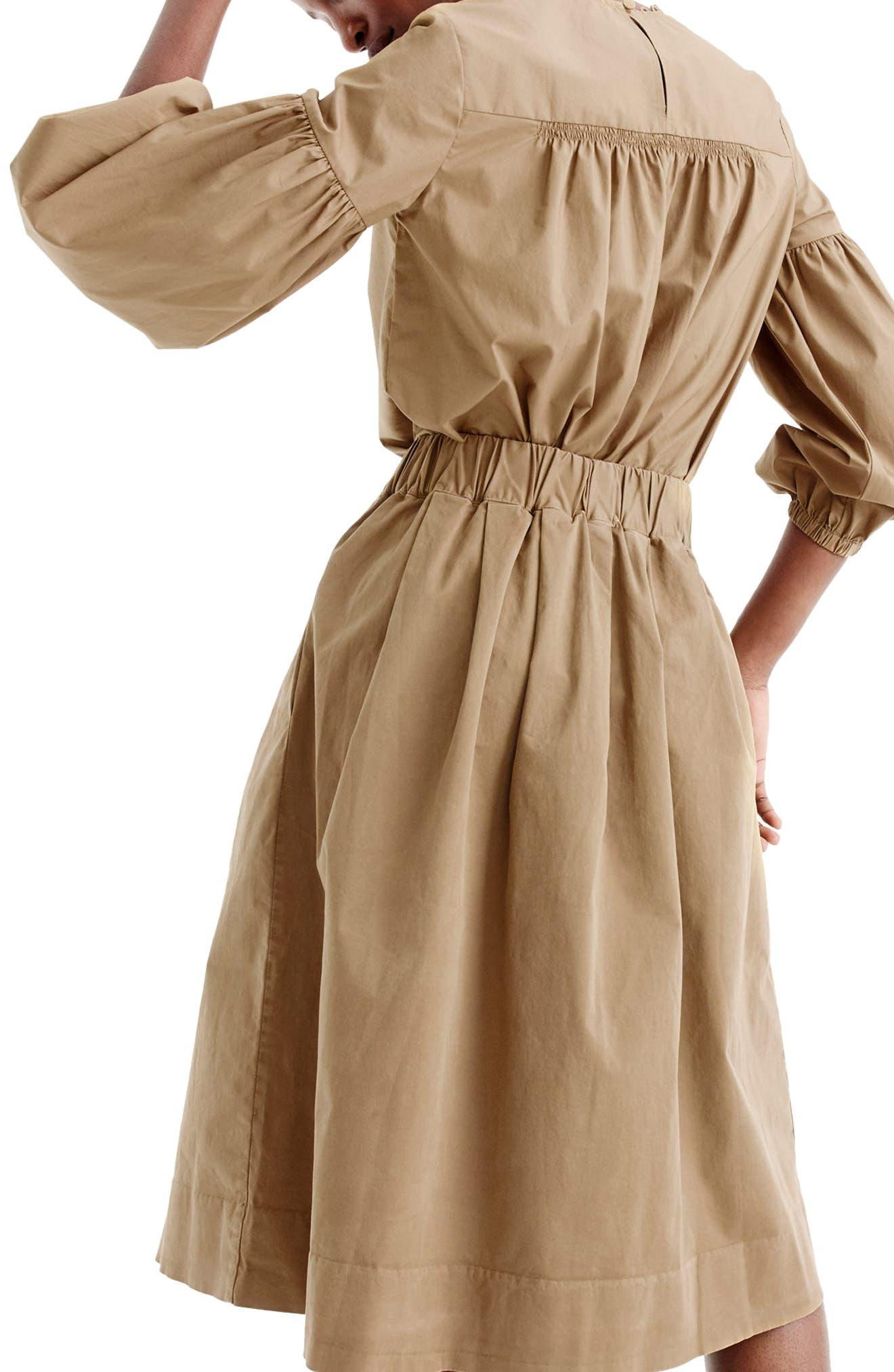 Alternate Image 2  - J.Crew Button Front Chino Skirt (Regular & Petite)