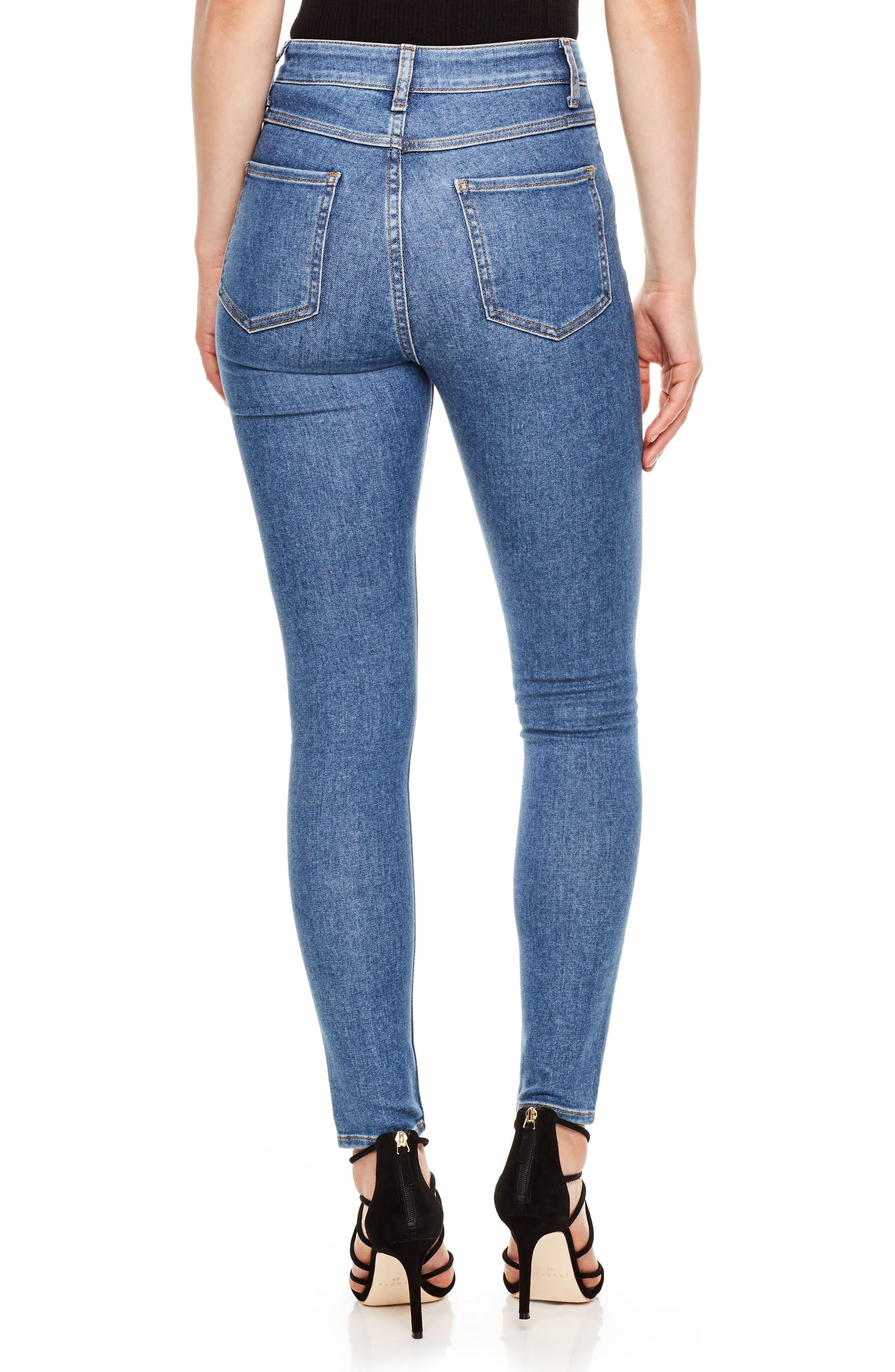 Alternate Image 2  - sandro High Waist Skinny Jeans