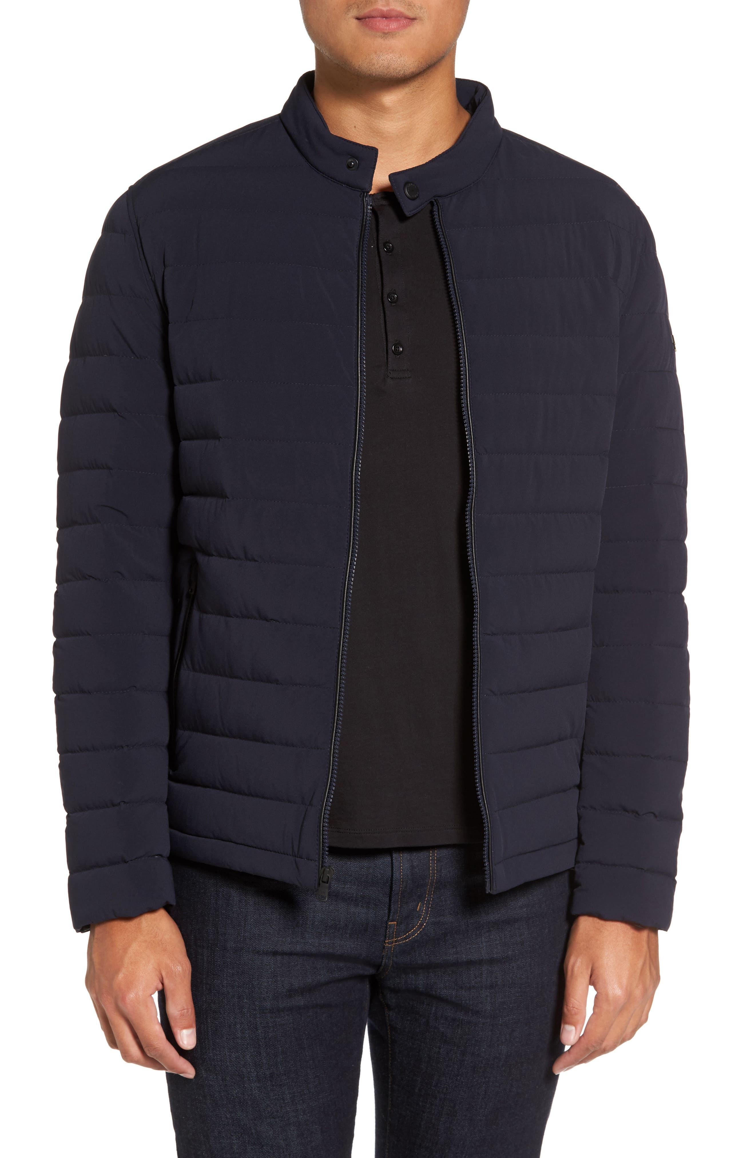 Michael Kors Packable Stretch Down Jacket