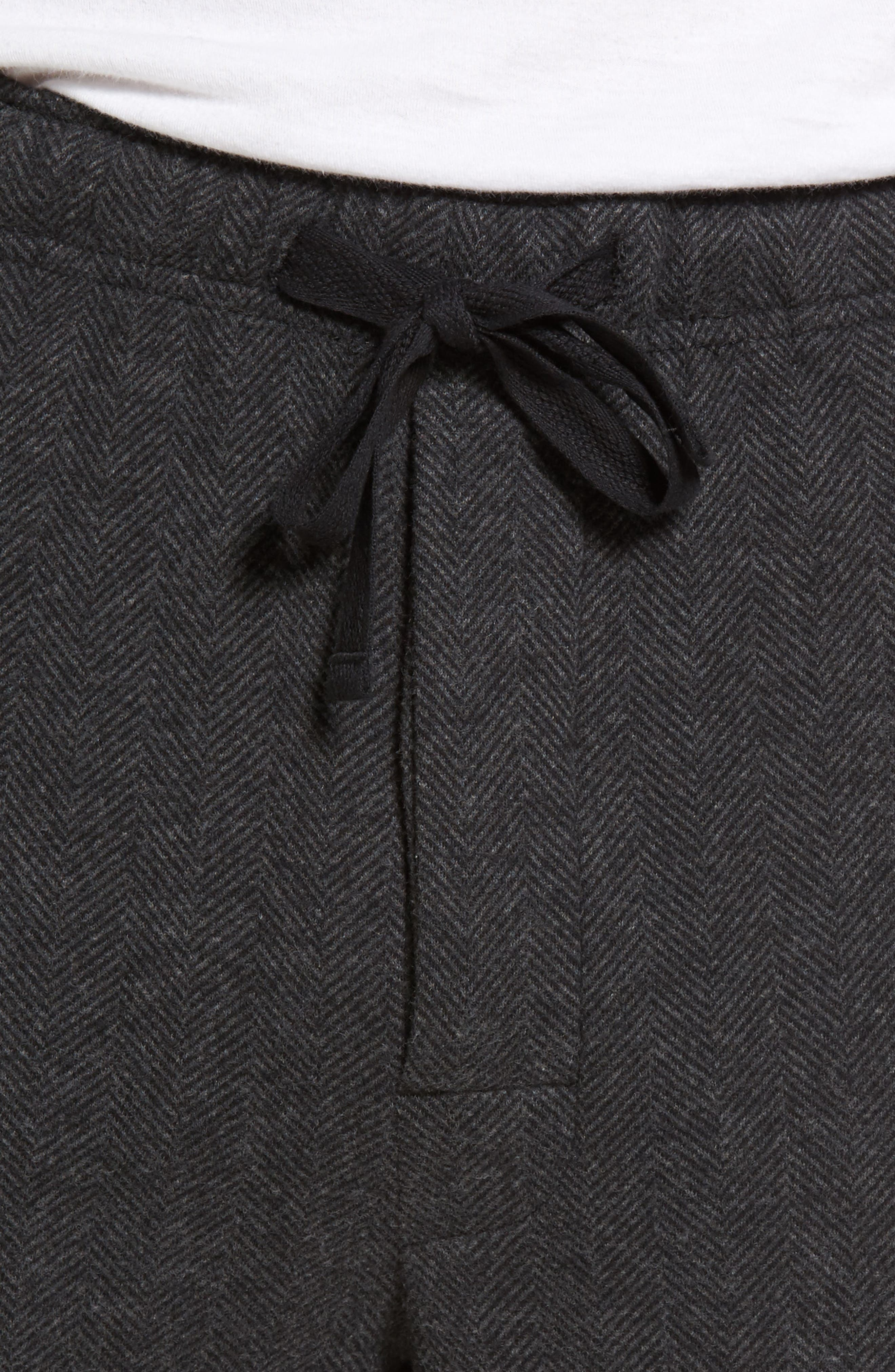 Grayson Lounge Pants,                             Alternate thumbnail 4, color,                             Charcoal