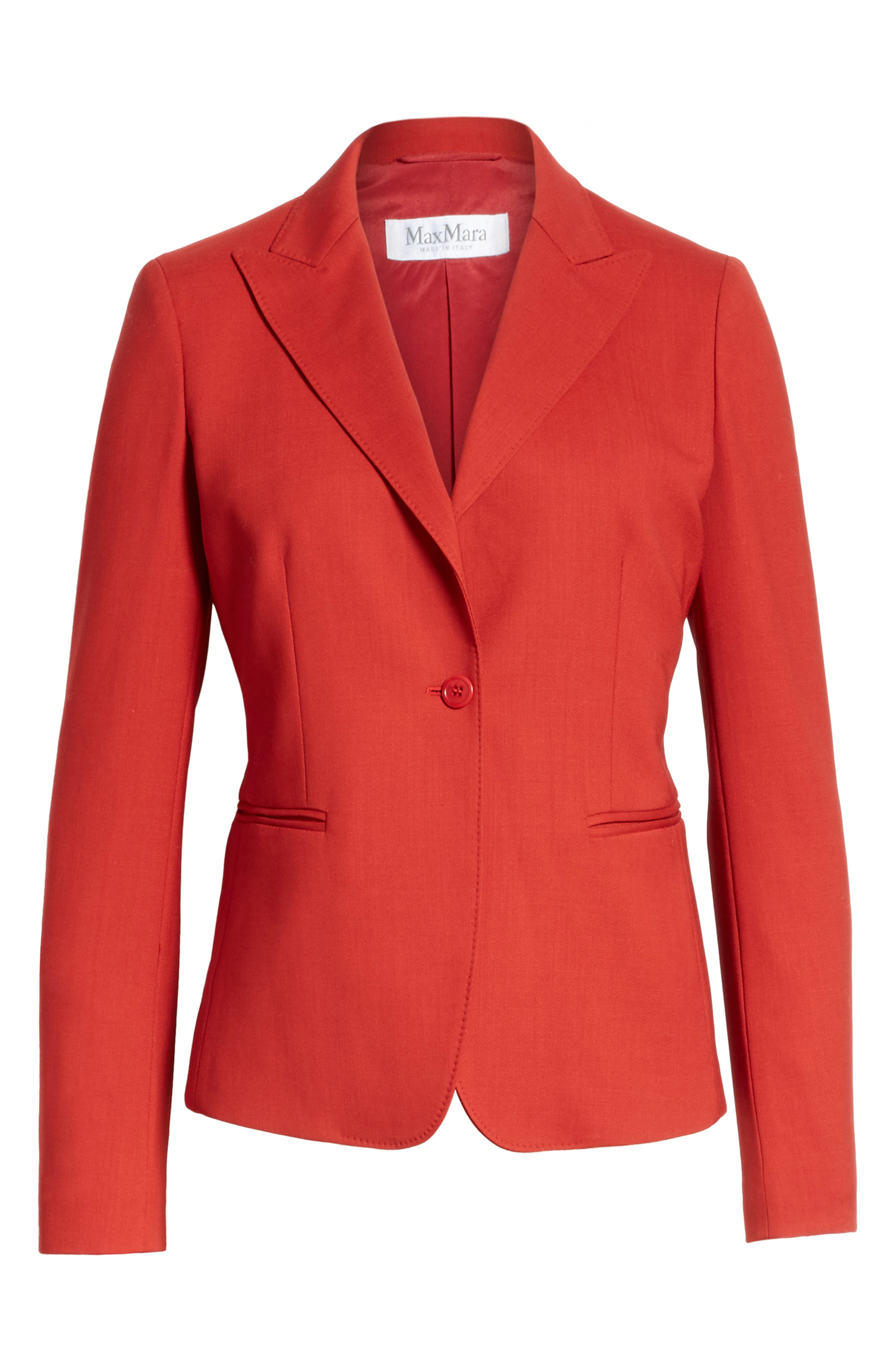 Alternate Image 6  - Max Mara Umile Stretch Wool Jacket