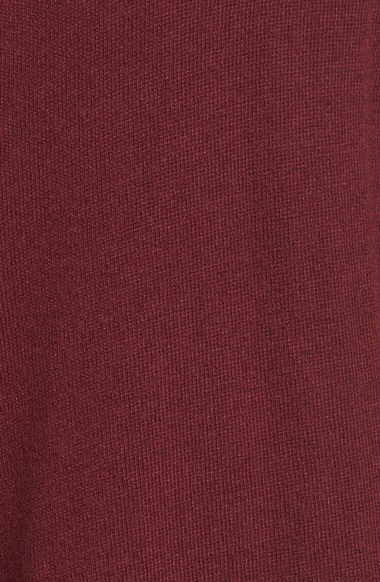 Alternate Image 5  - Sejour Cascade Open Front Cardigan (Plus Size)