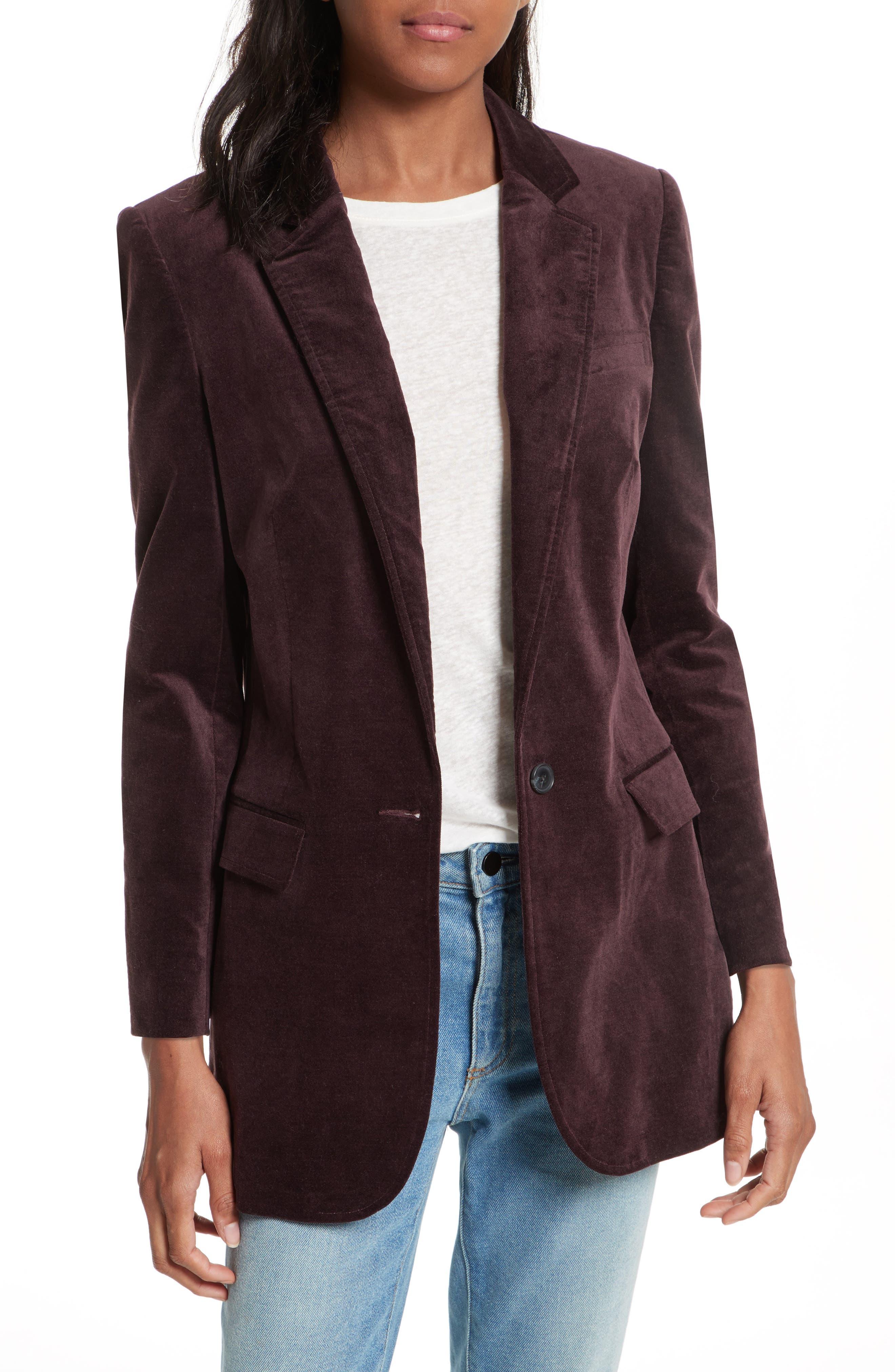 Rebecca Minkoff Merilee Velvet Jacket
