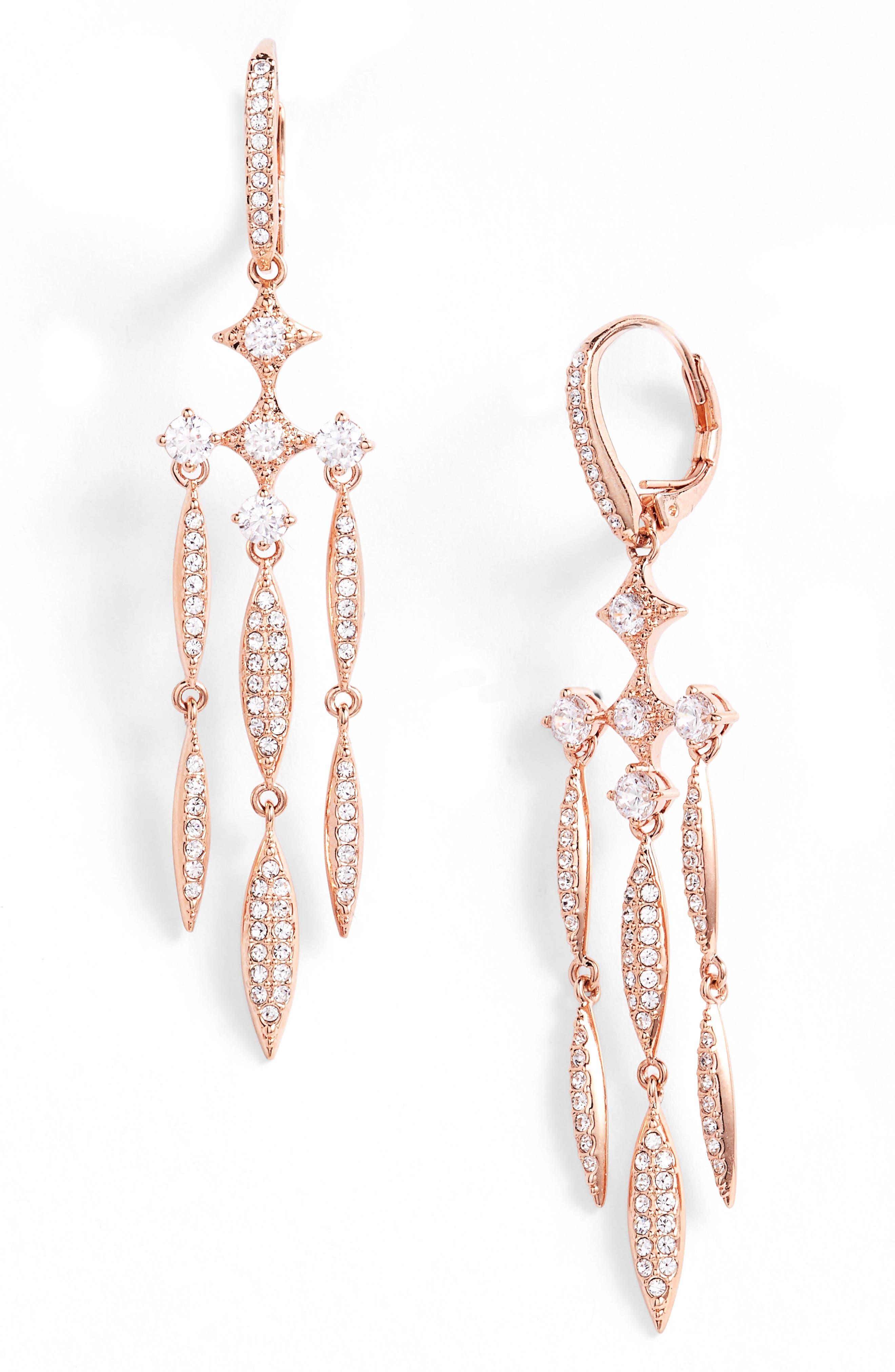NADRI Cardamom Chandelier Earrings