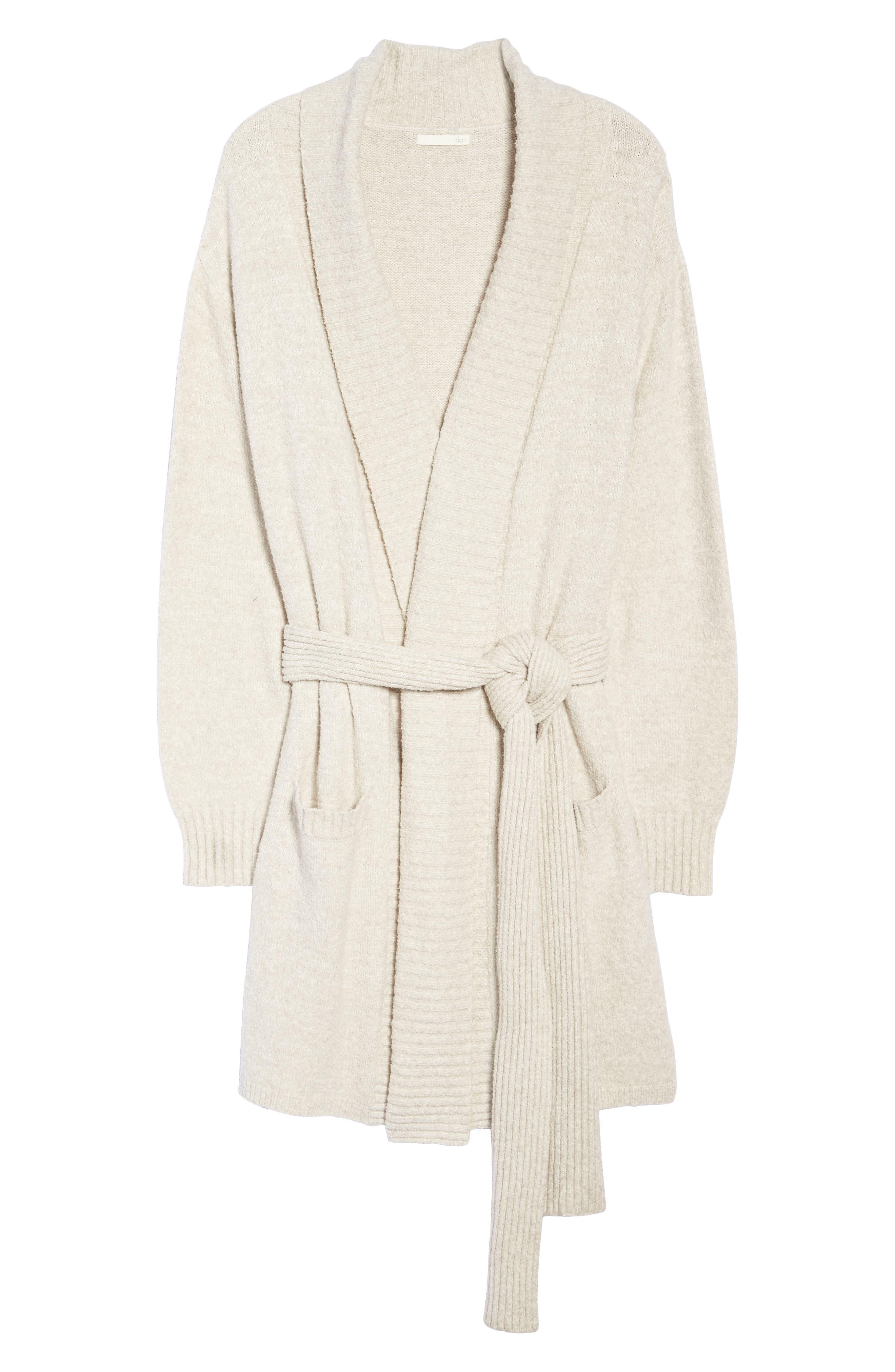 Alternate Image 4  - skin Britta Plush Robe