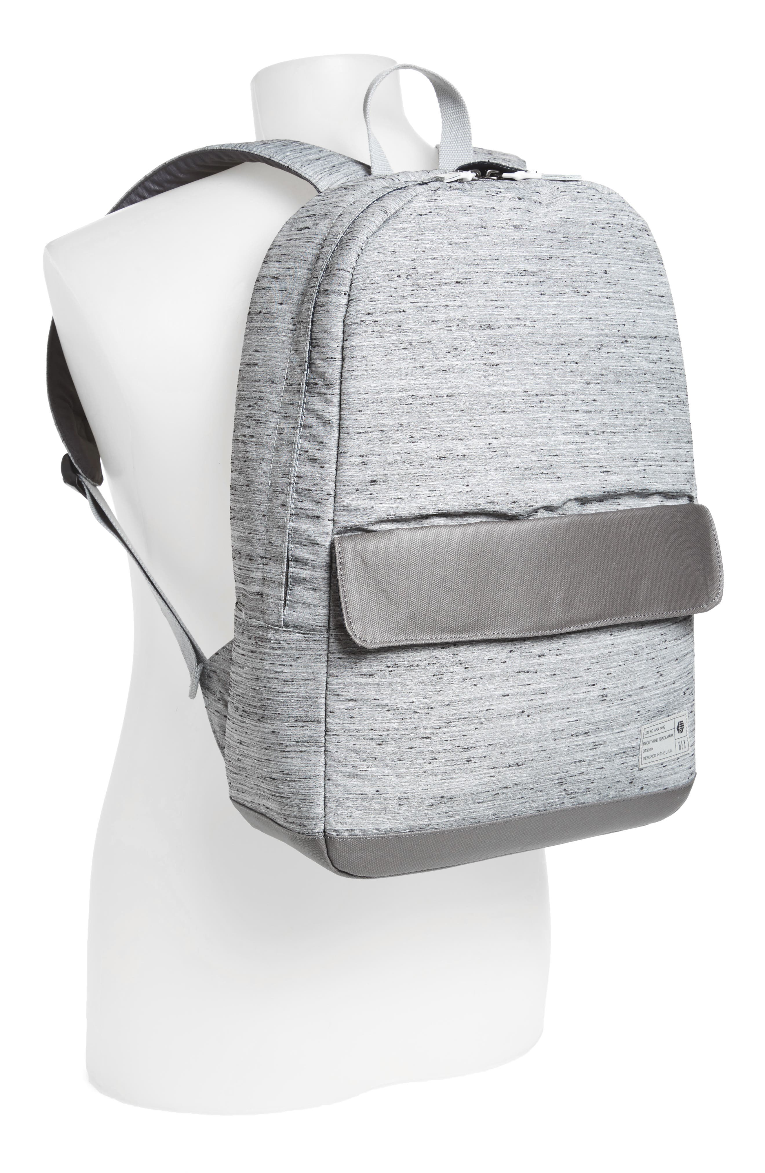 'Echo' Backpack,                             Alternate thumbnail 2, color,                             Annex Grey Slub