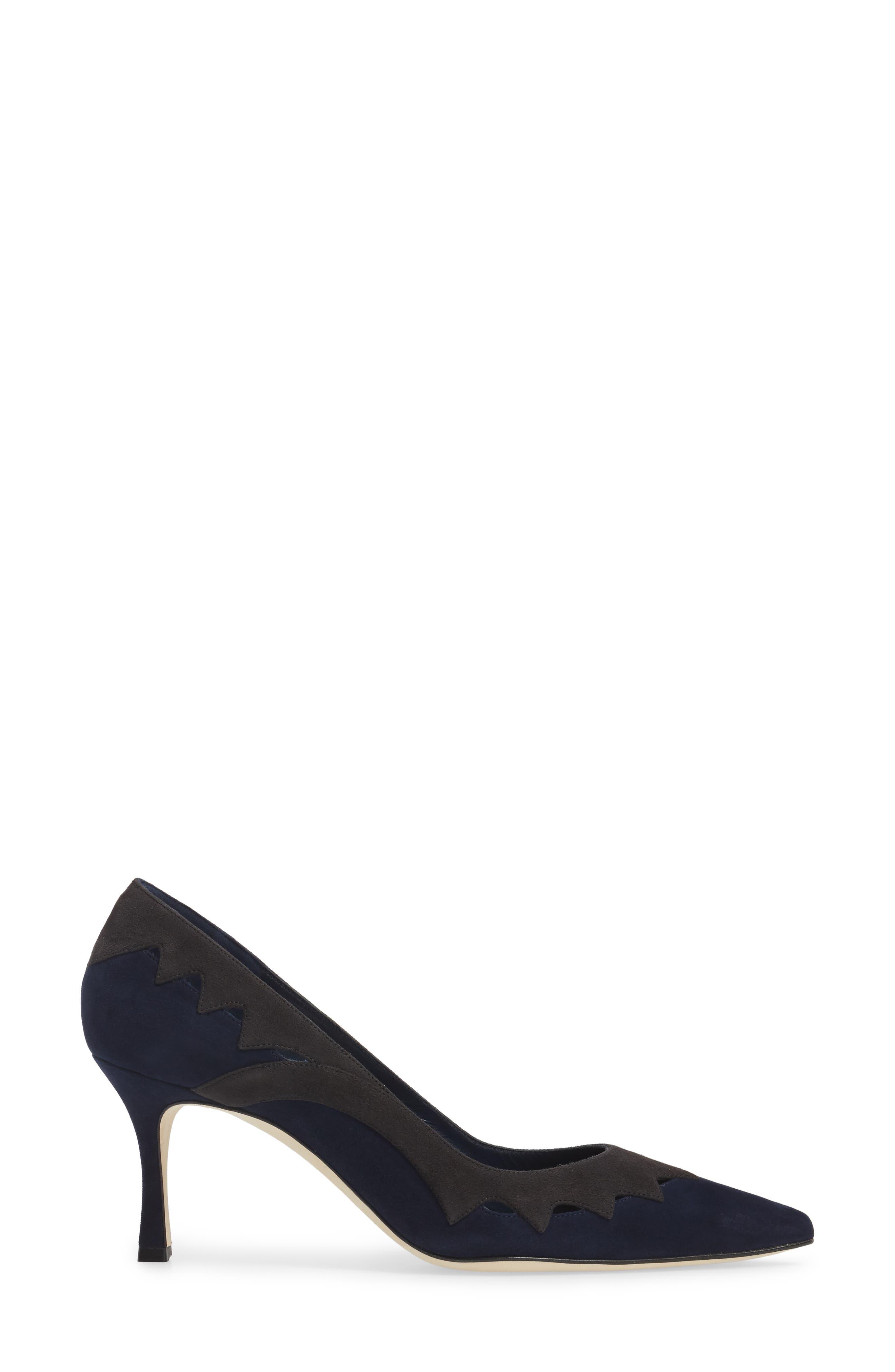 Alternate Image 3  - Manolo Blahnik Valero Pointy Toe Pump (Women)