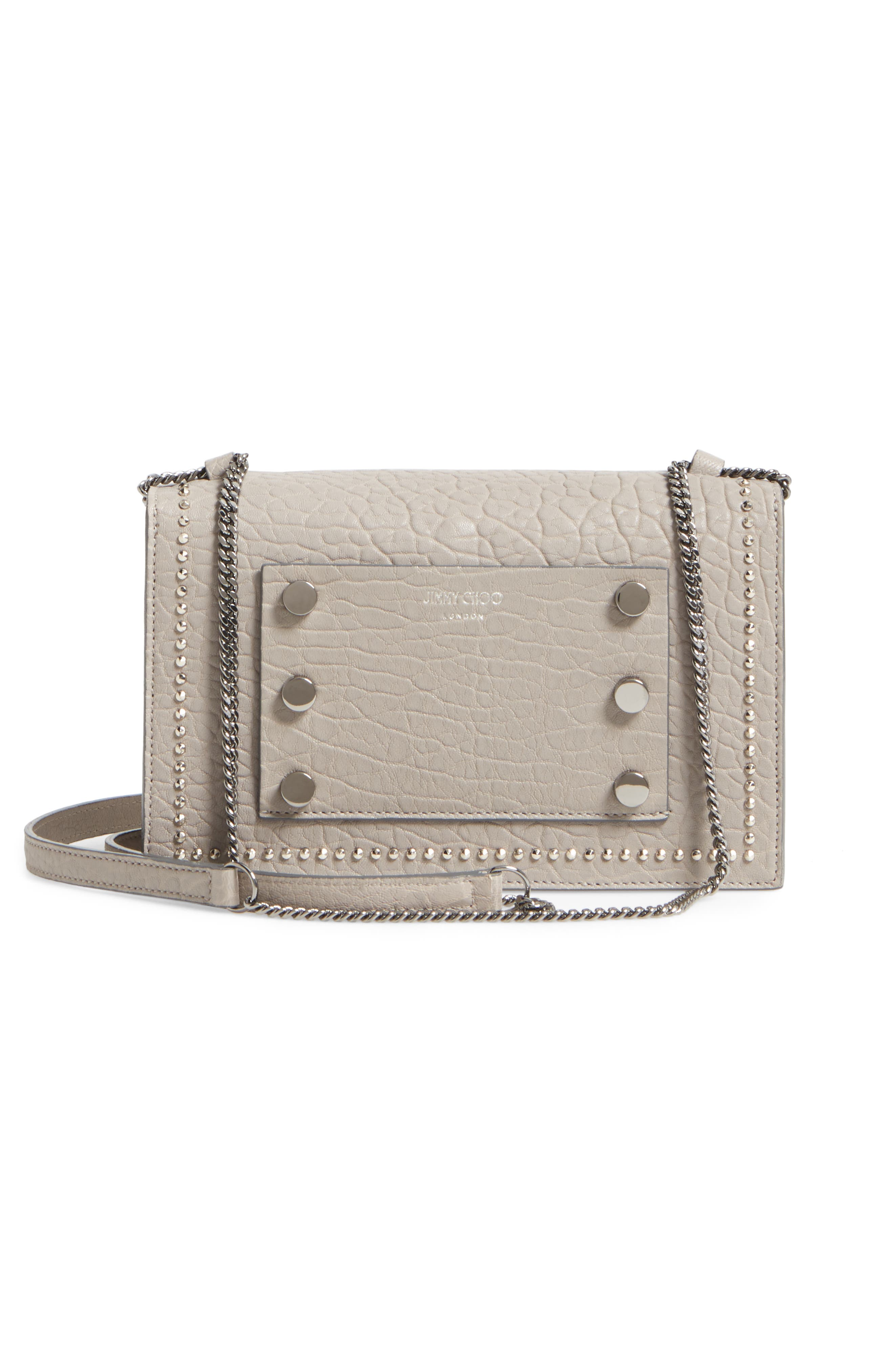 Alternate Image 2  - Jimmy Choo Leila Grainy Lambskin Leather Crossbody Bag
