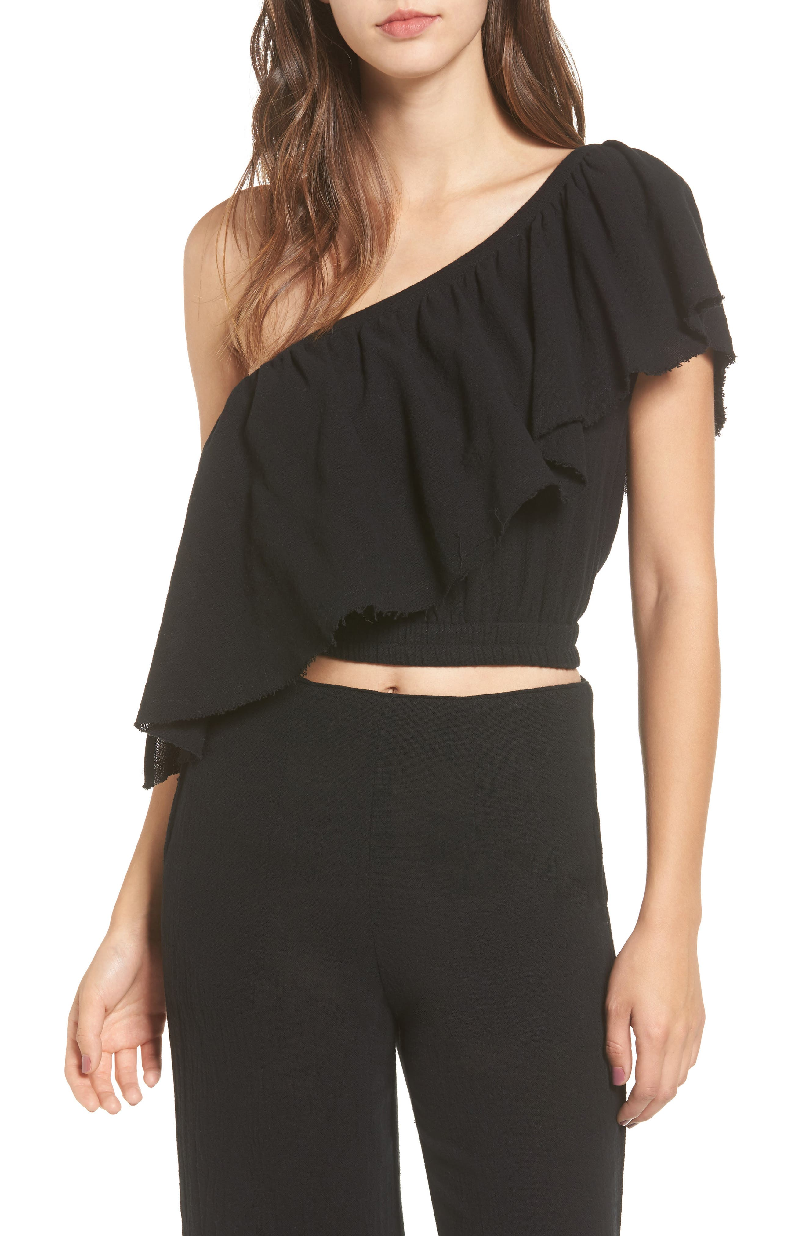 Alternate Image 1 Selected - FAITHFULL THE BRAND San Andres One-Shoulder Top