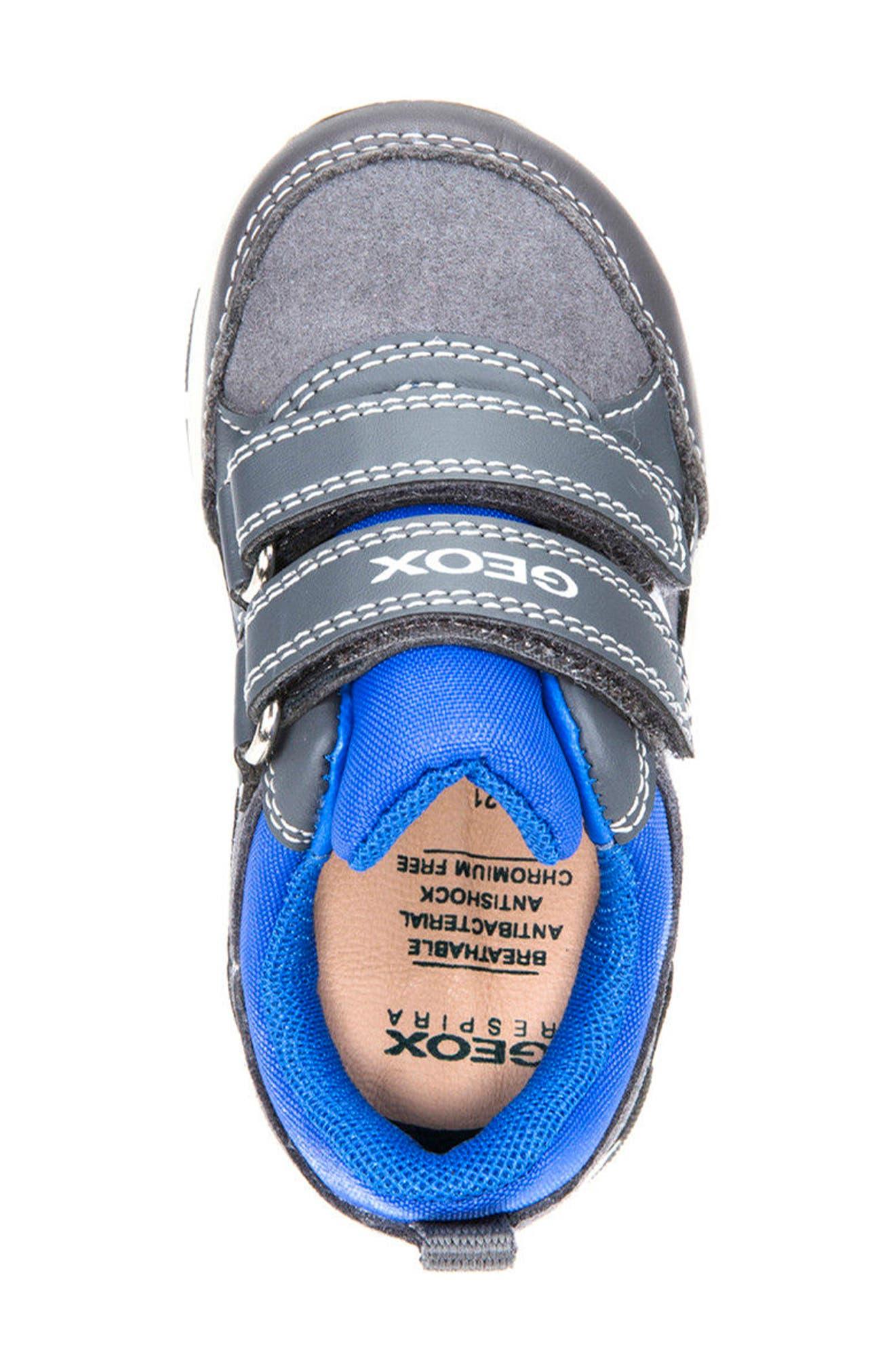 'Shaax 9' Sneaker,                             Alternate thumbnail 5, color,                             Grey/ Royal