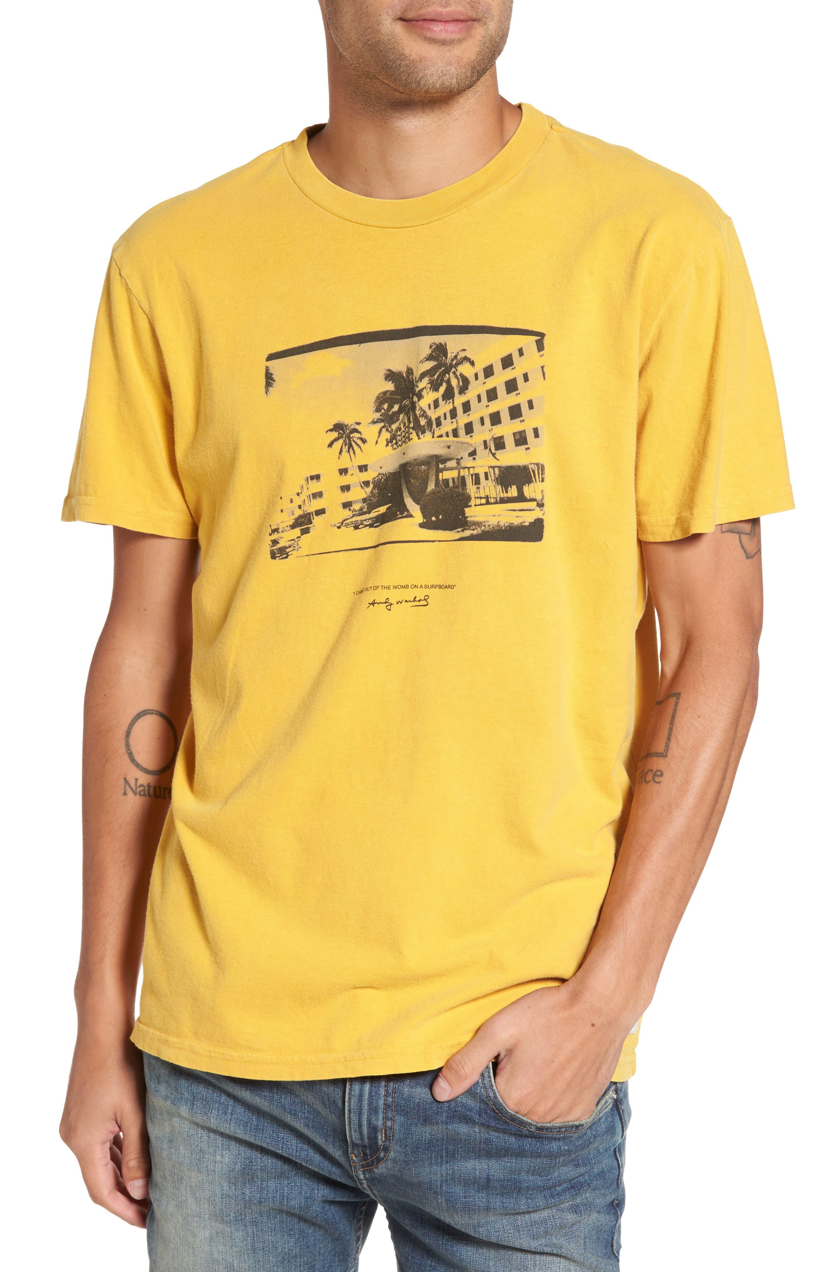 Motel Spring T-Shirt,                         Main,                         color, Vintage Gold
