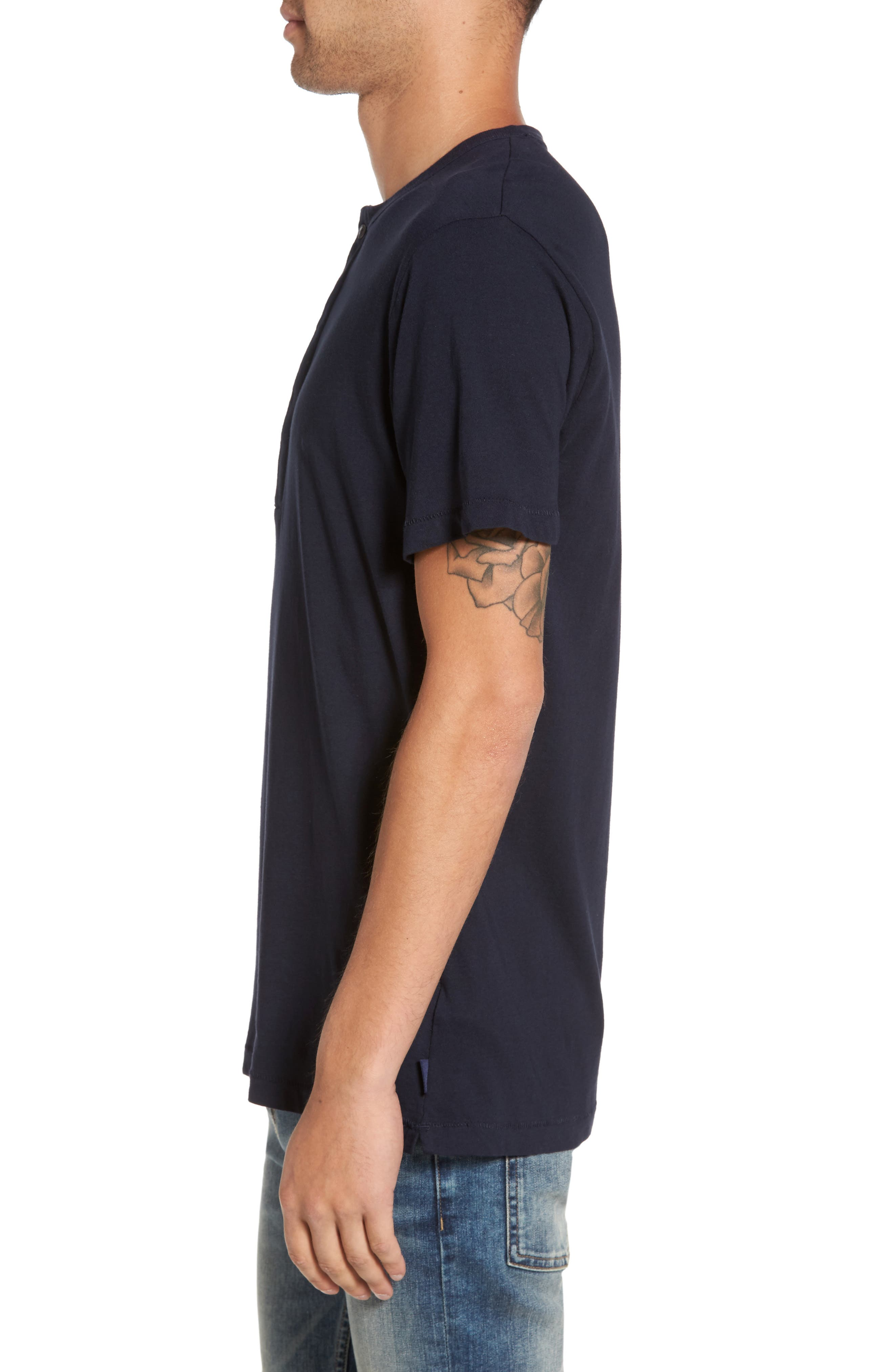 Alternate Image 3  - French Connection Henley T-Shirt