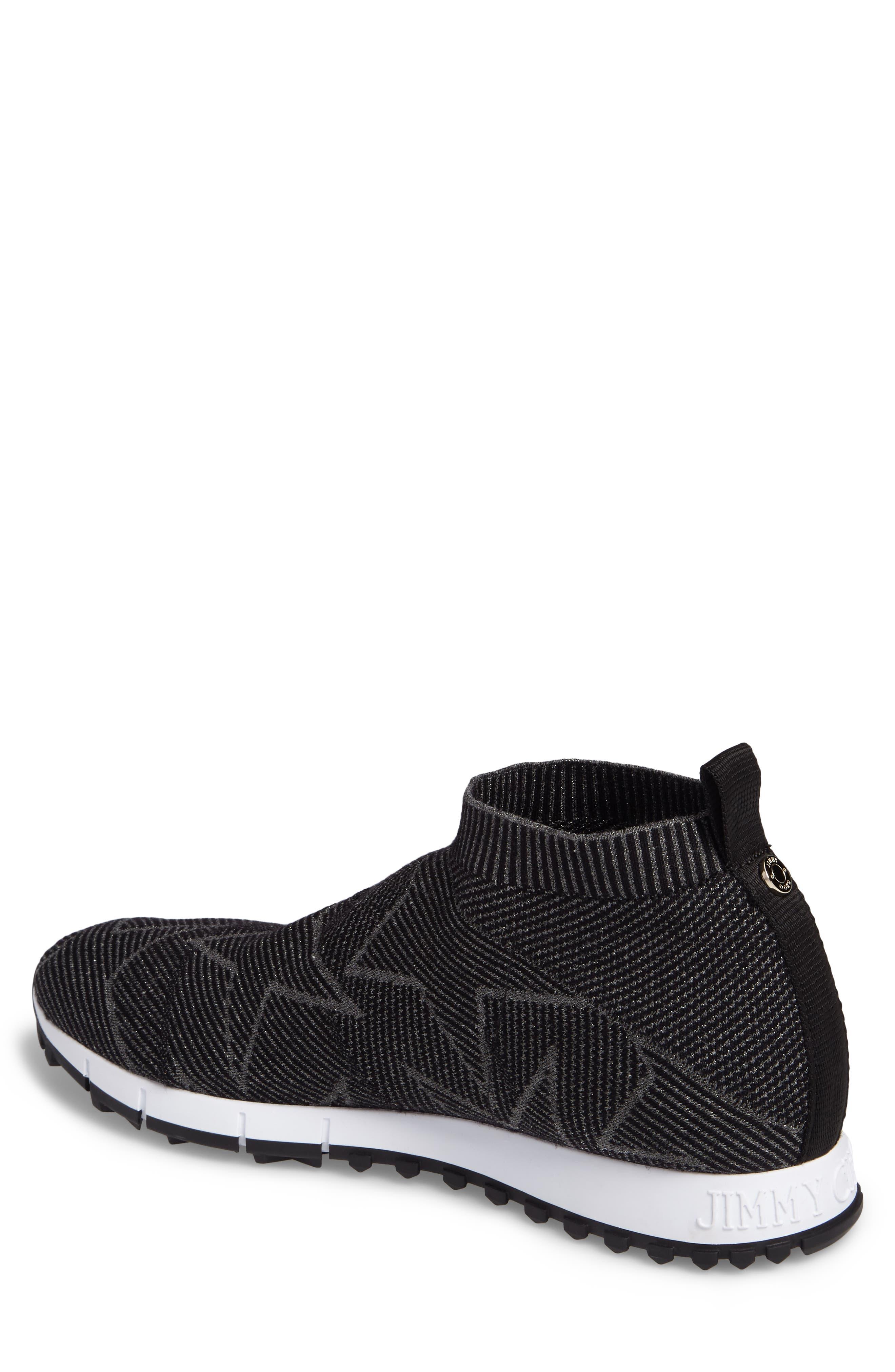 Alternate Image 2  - Jimmy Choo Norway High Top Sock Sneaker (Men)