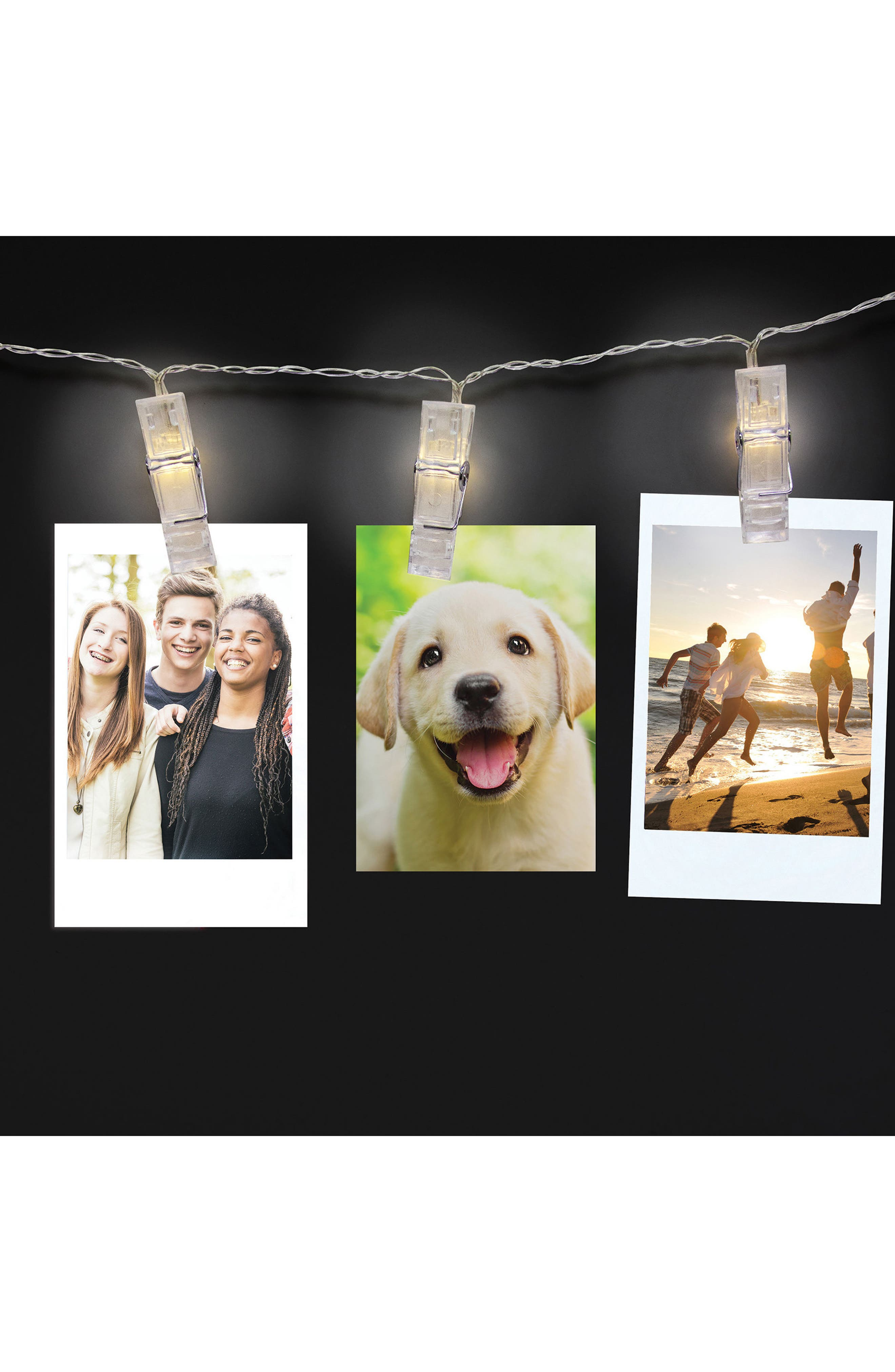Lighten Up Photo Display String,                             Alternate thumbnail 3, color,                             White Off-White