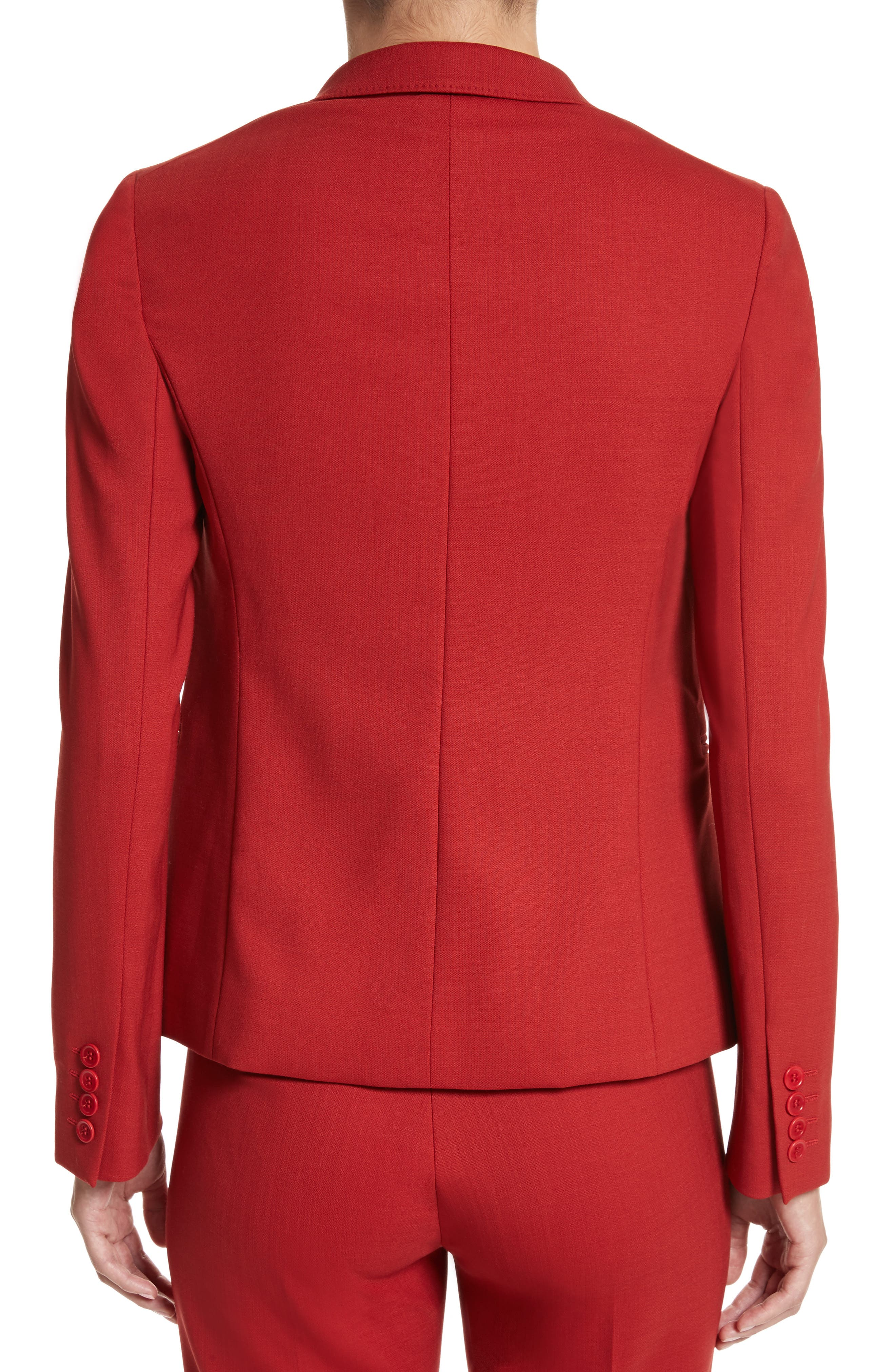 Alternate Image 2  - Max Mara Umile Stretch Wool Jacket