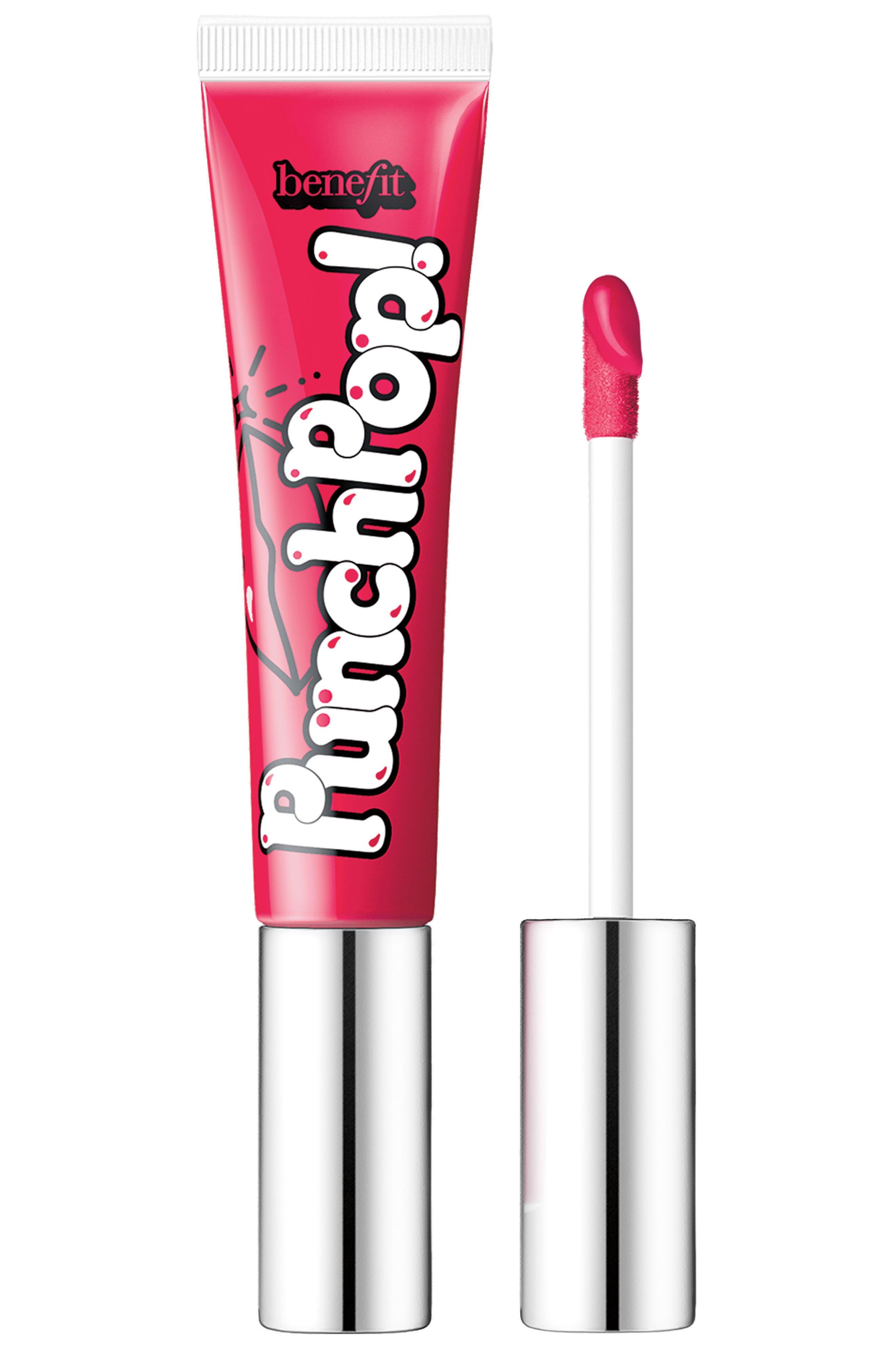 Main Image - Benefit Punch Pop! Liquid Lip Color