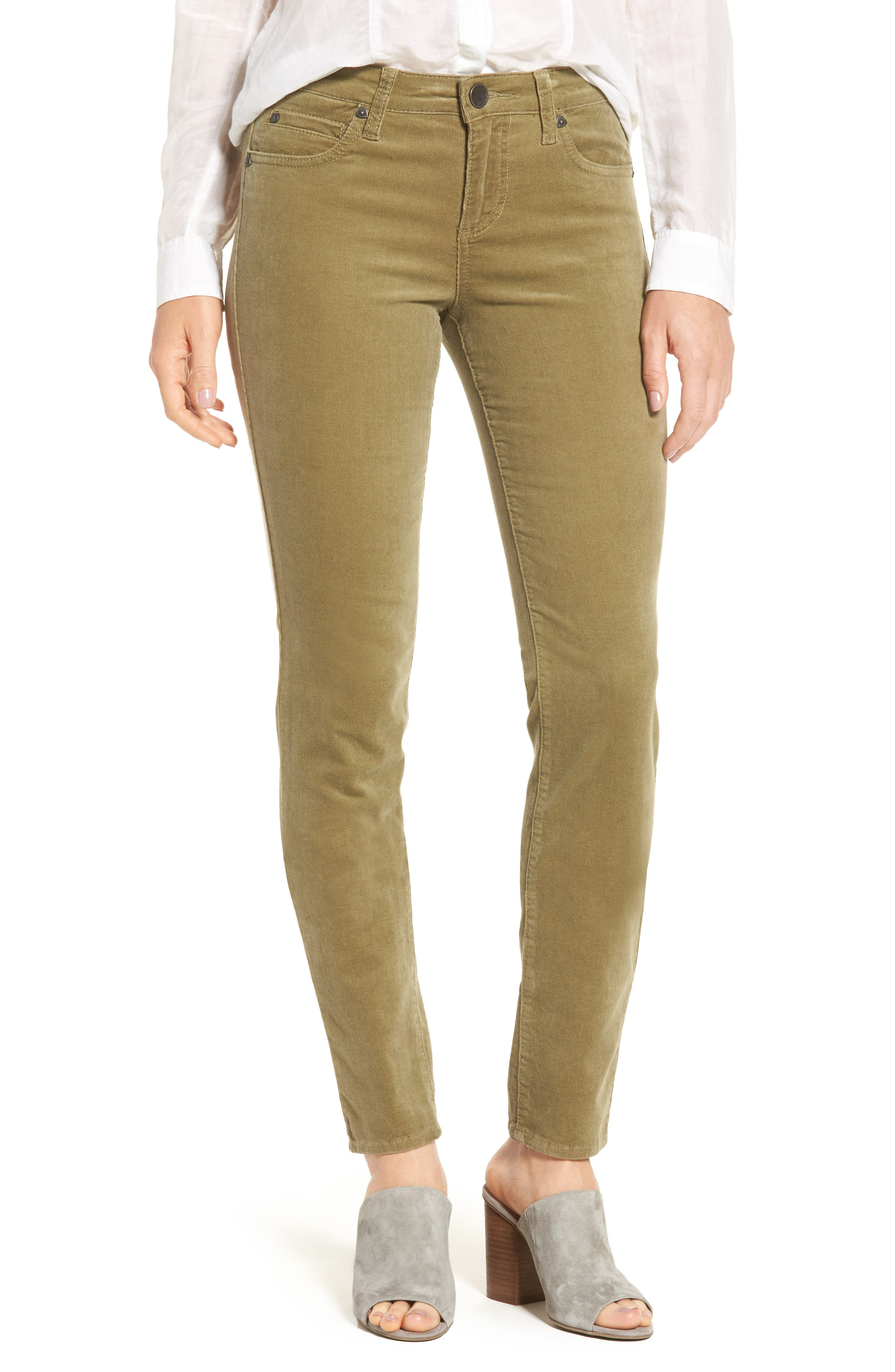 KUT from the Kloth Diana Stretch Corduroy Skinny Pants (Regular & Petite)