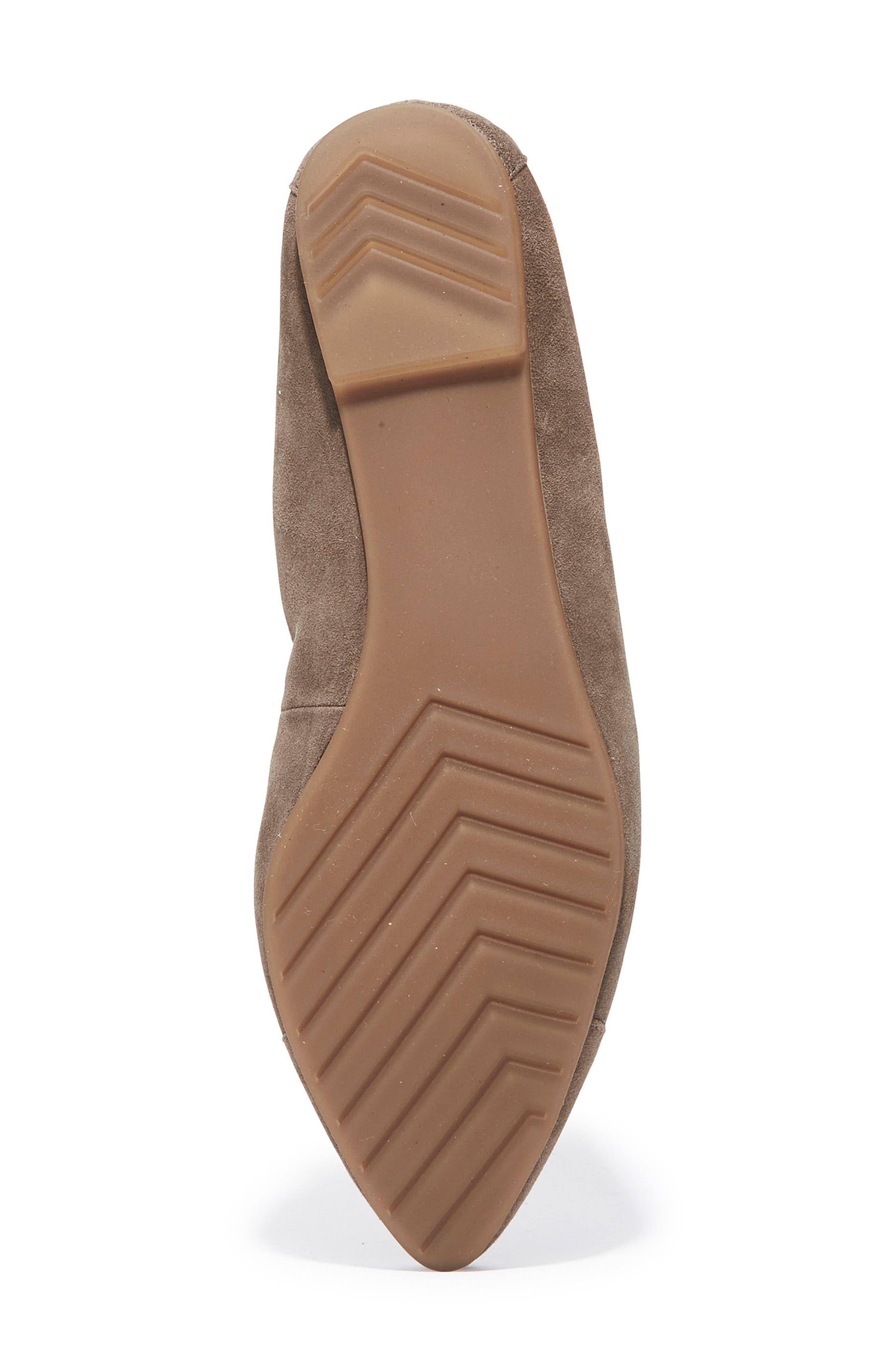 Alternate Image 5  - Me Too Arianna Pointy Toe Flat (Women)