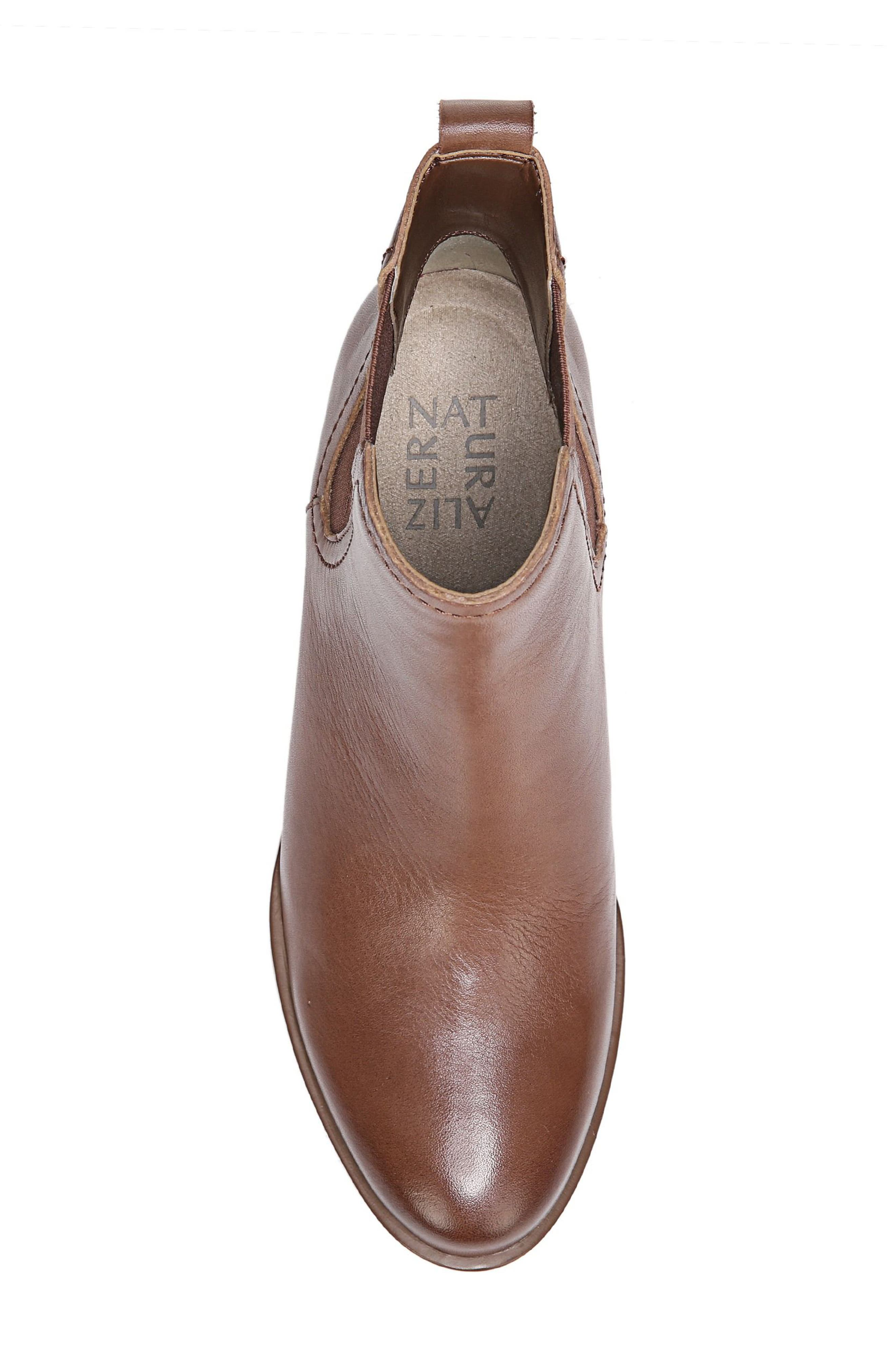 Dallas Chelsea Boot,                             Alternate thumbnail 5, color,                             Coffee Bean Leather
