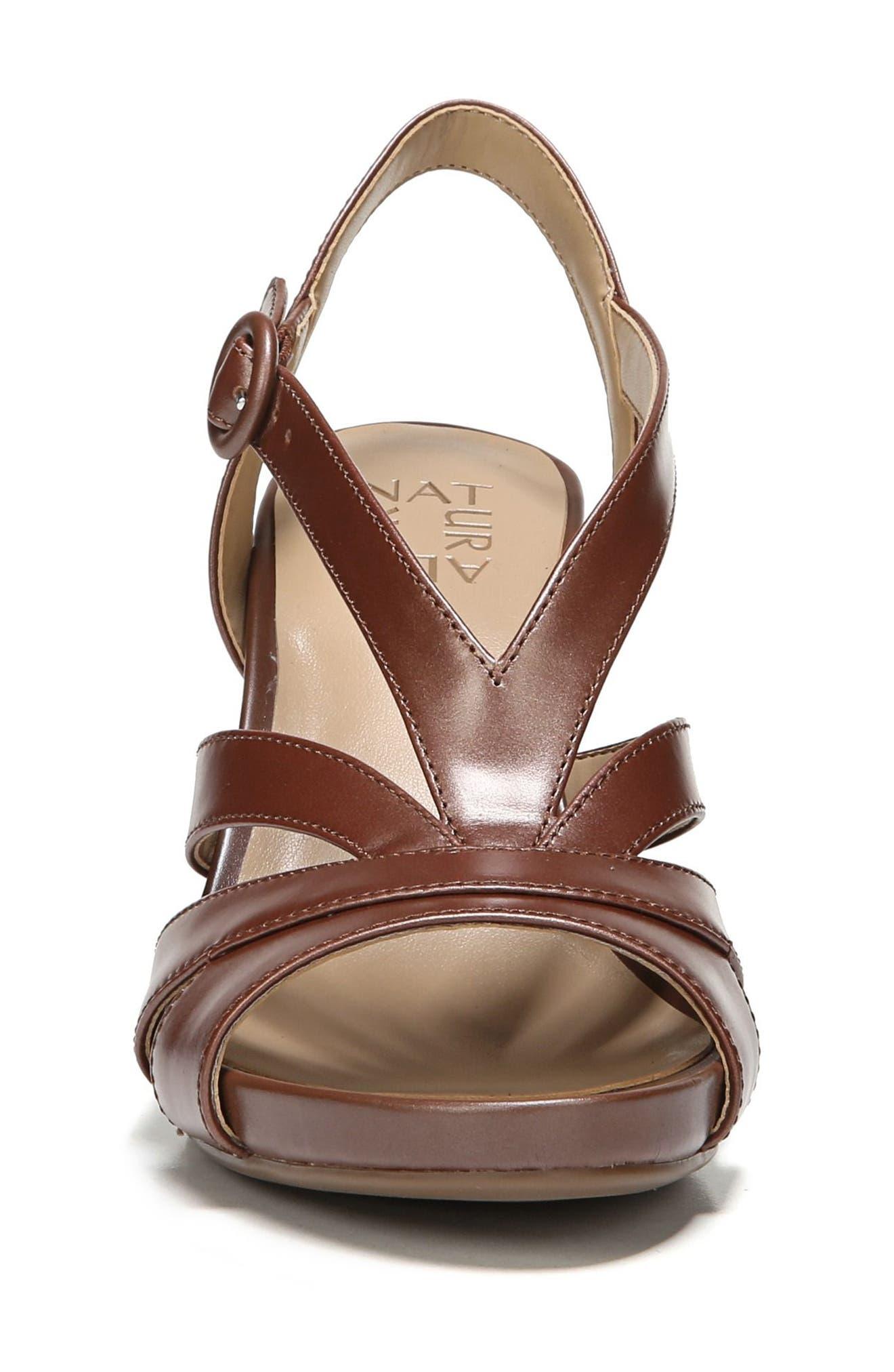 Alternate Image 4  - Naturalizer Brandy Wedge Sandal (Women)