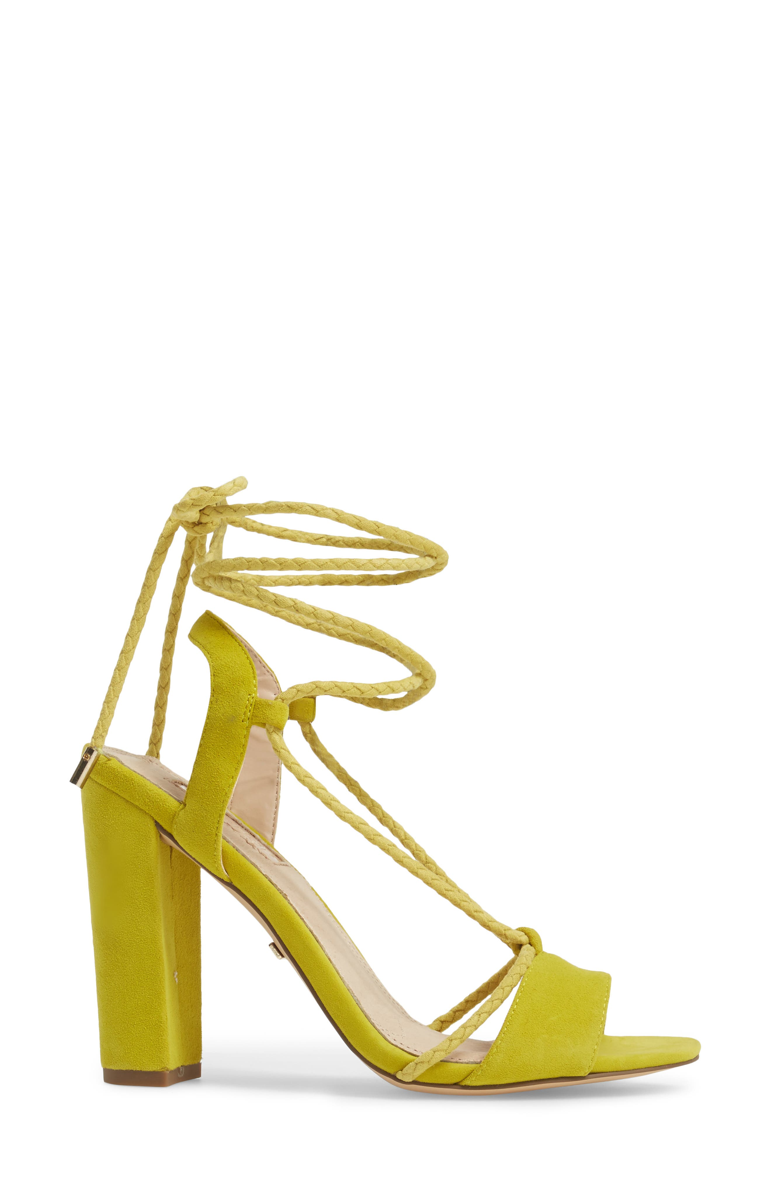 Alternate Image 3  - Topshop Reno Ankle Tie Sandal (Women)