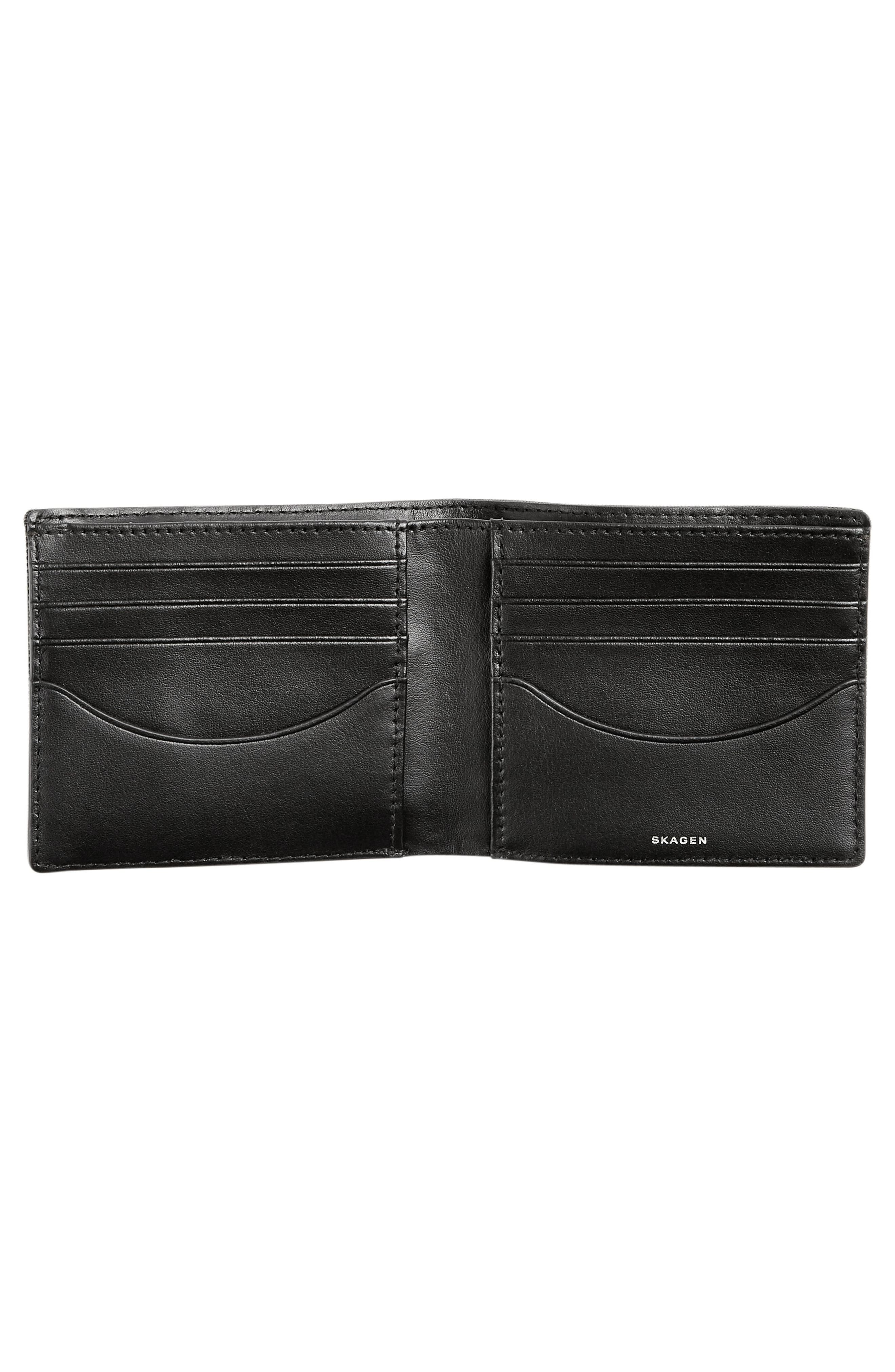 Passcase Wallet,                             Alternate thumbnail 2, color,                             Dark Green