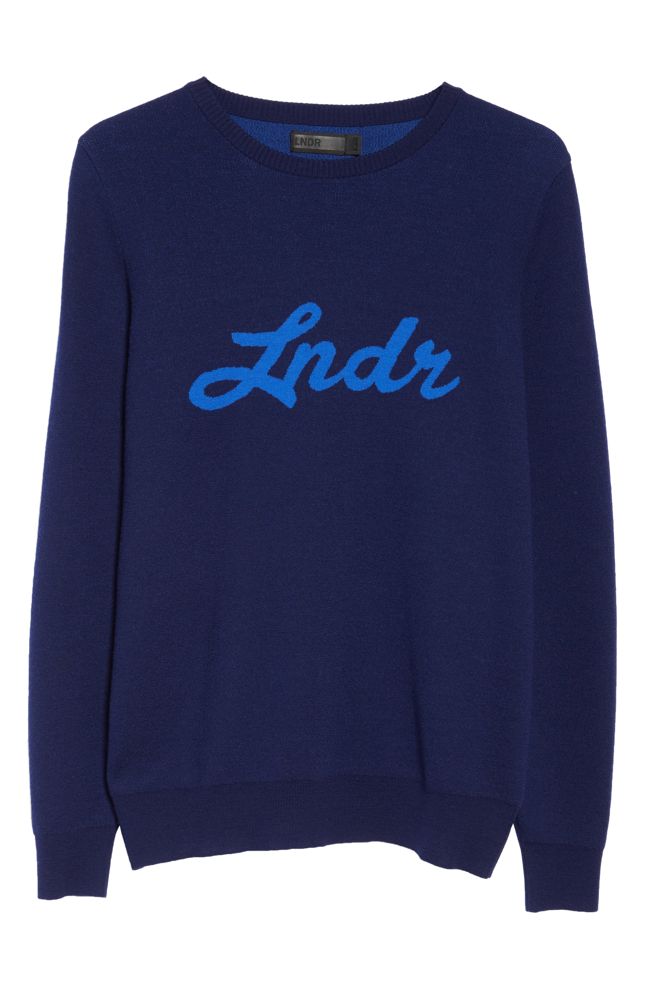 Alternate Image 6  - LNDR Double Happiness Pullover