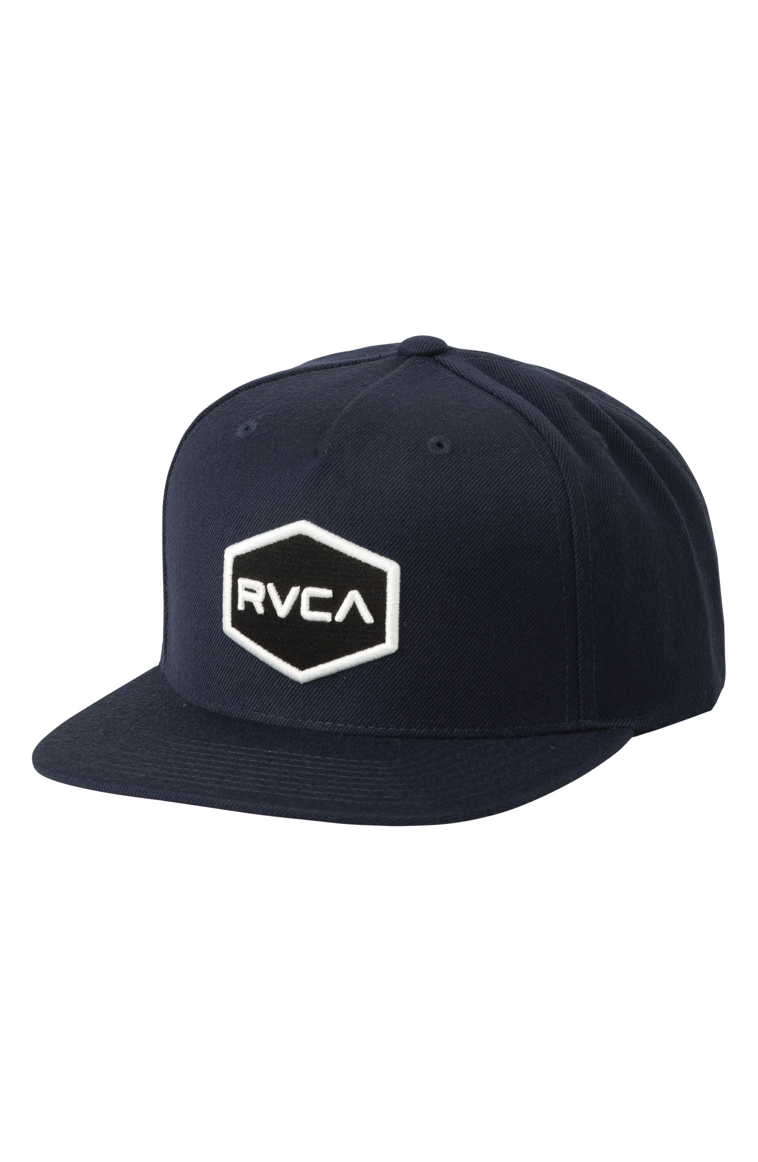 Commonwealth Snapback Baseball Cap,                         Main,                         color, Black/ White