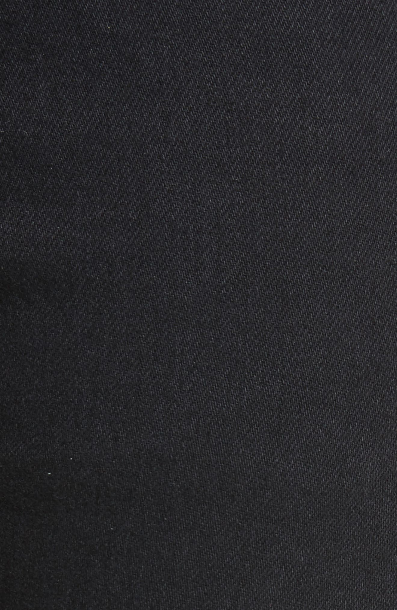 Boyd High Rise Jeans,                             Alternate thumbnail 5, color,                             Black