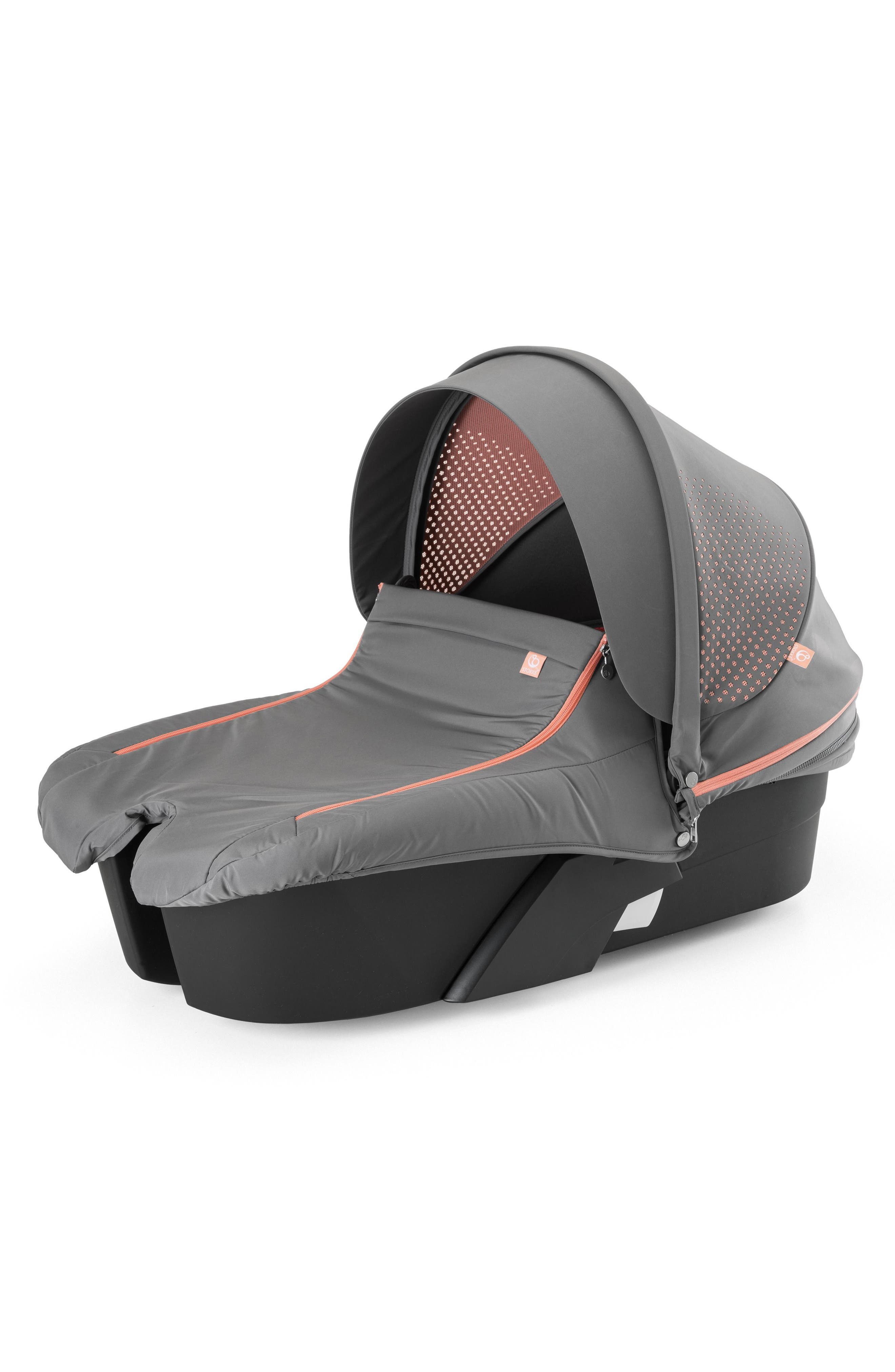 Xplory<sup>®</sup> Athleisure Stroller Carry Cot,                         Main,                         color, Coral