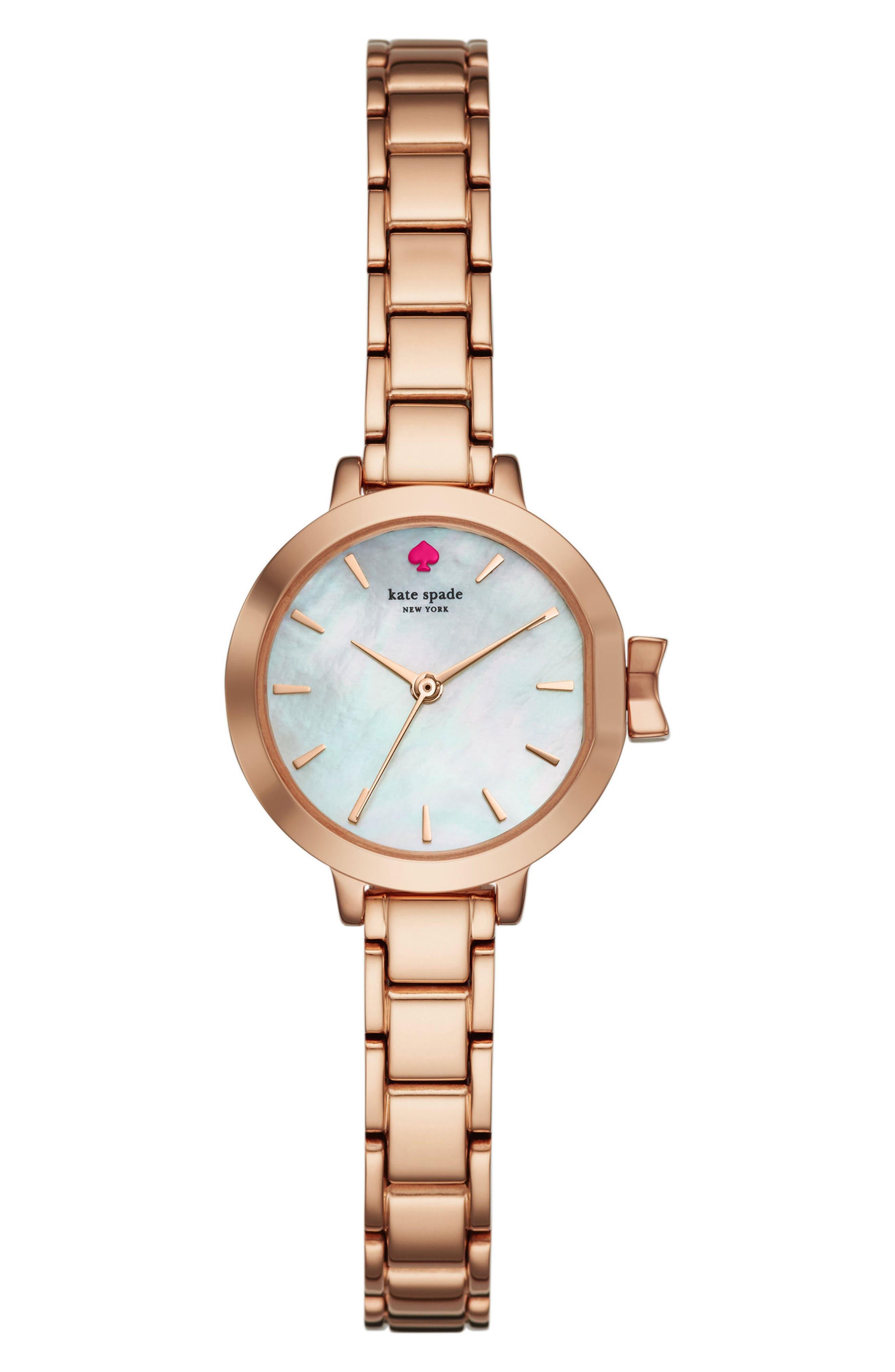 Main Image - kate spade new york park row bracelet watch, 24mm