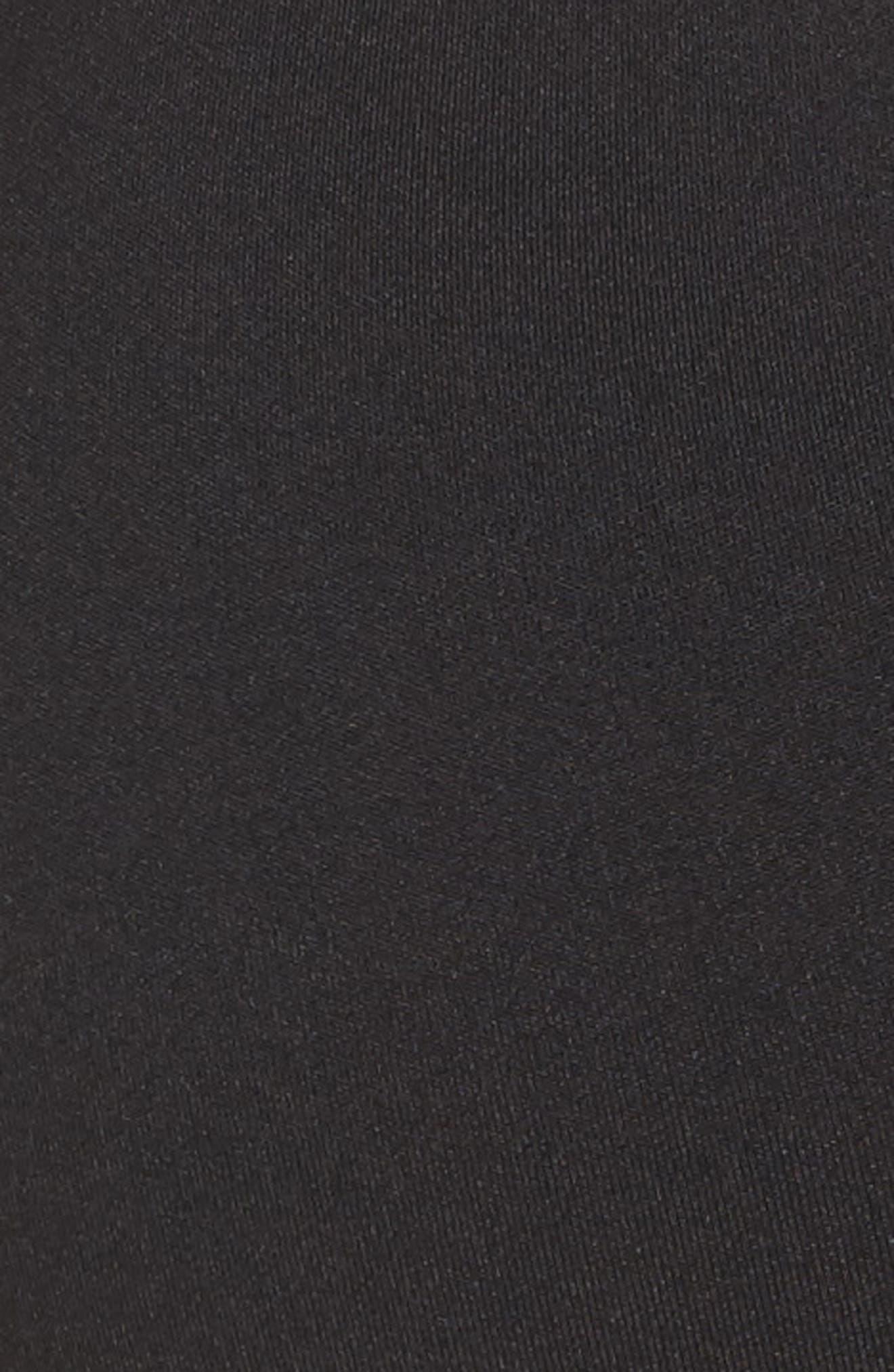 Speedwick Strappy Sports Bra,                             Alternate thumbnail 6, color,                             Black