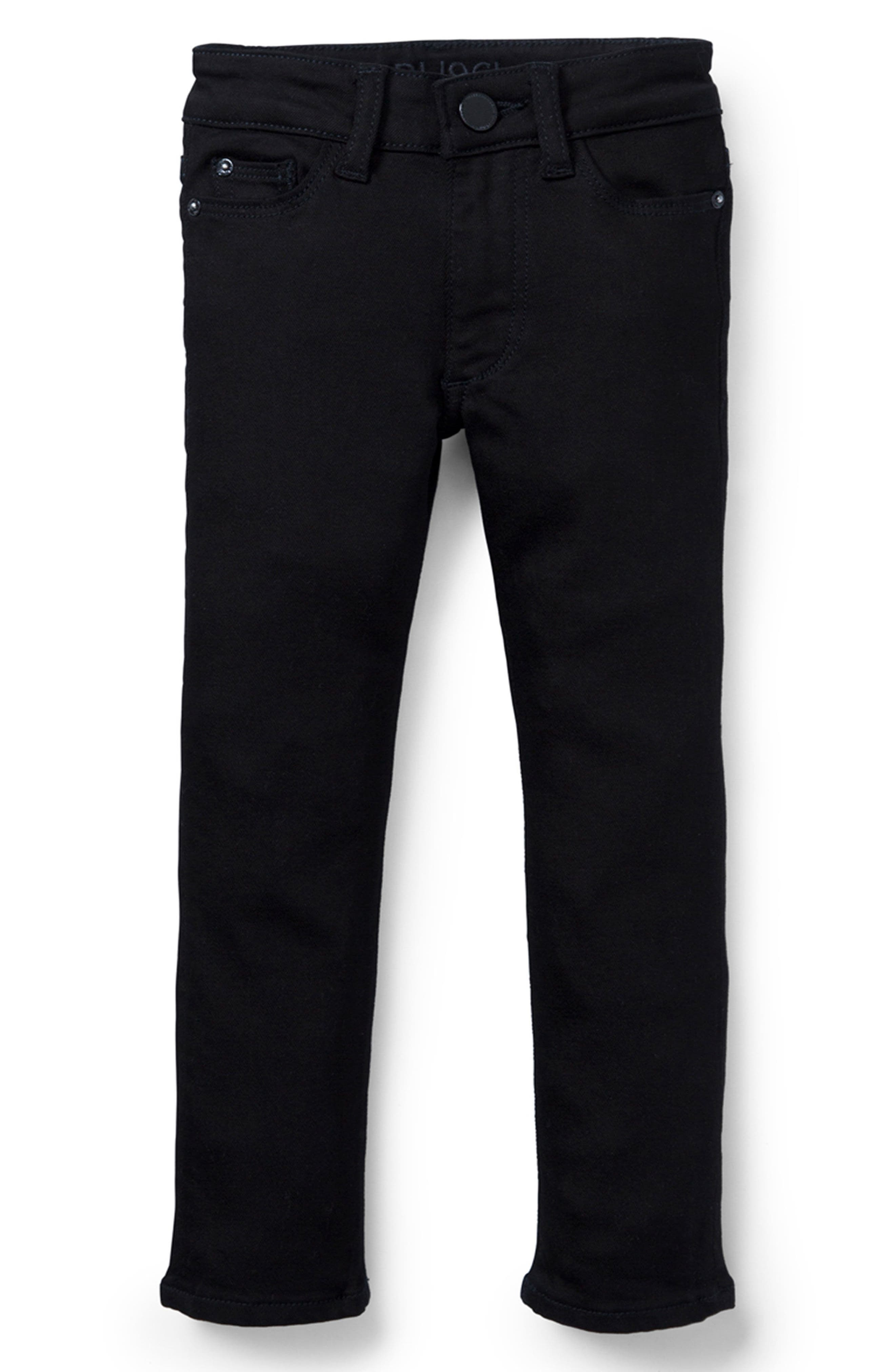 Alternate Image 1 Selected - DL1961 Stretch Skinny Jeans (Toddler Girls & Little Girls)