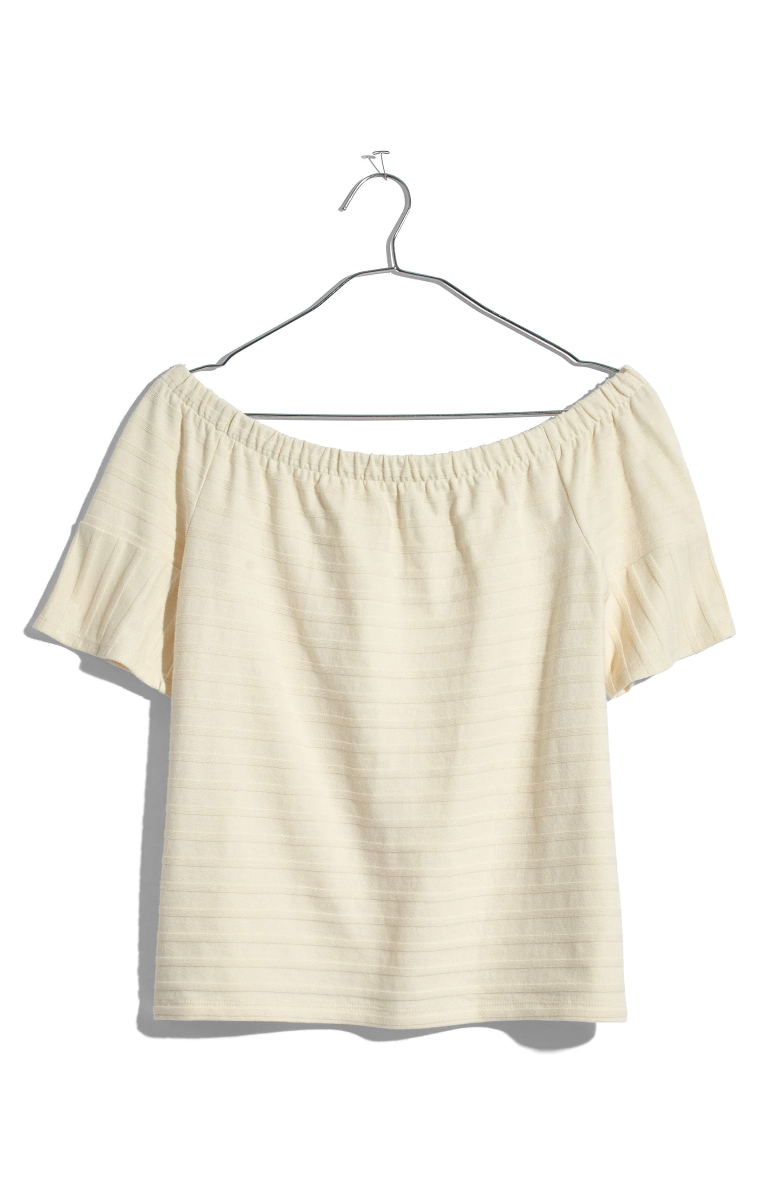 Alternate Image 3  - Madewell Off the Shoulder Knit Top