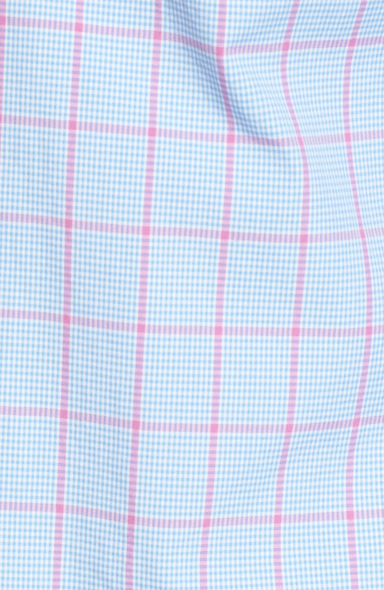 Alternate Image 5  - vineyard vines Murray Slim Fit Inlet Check Sport Shirt