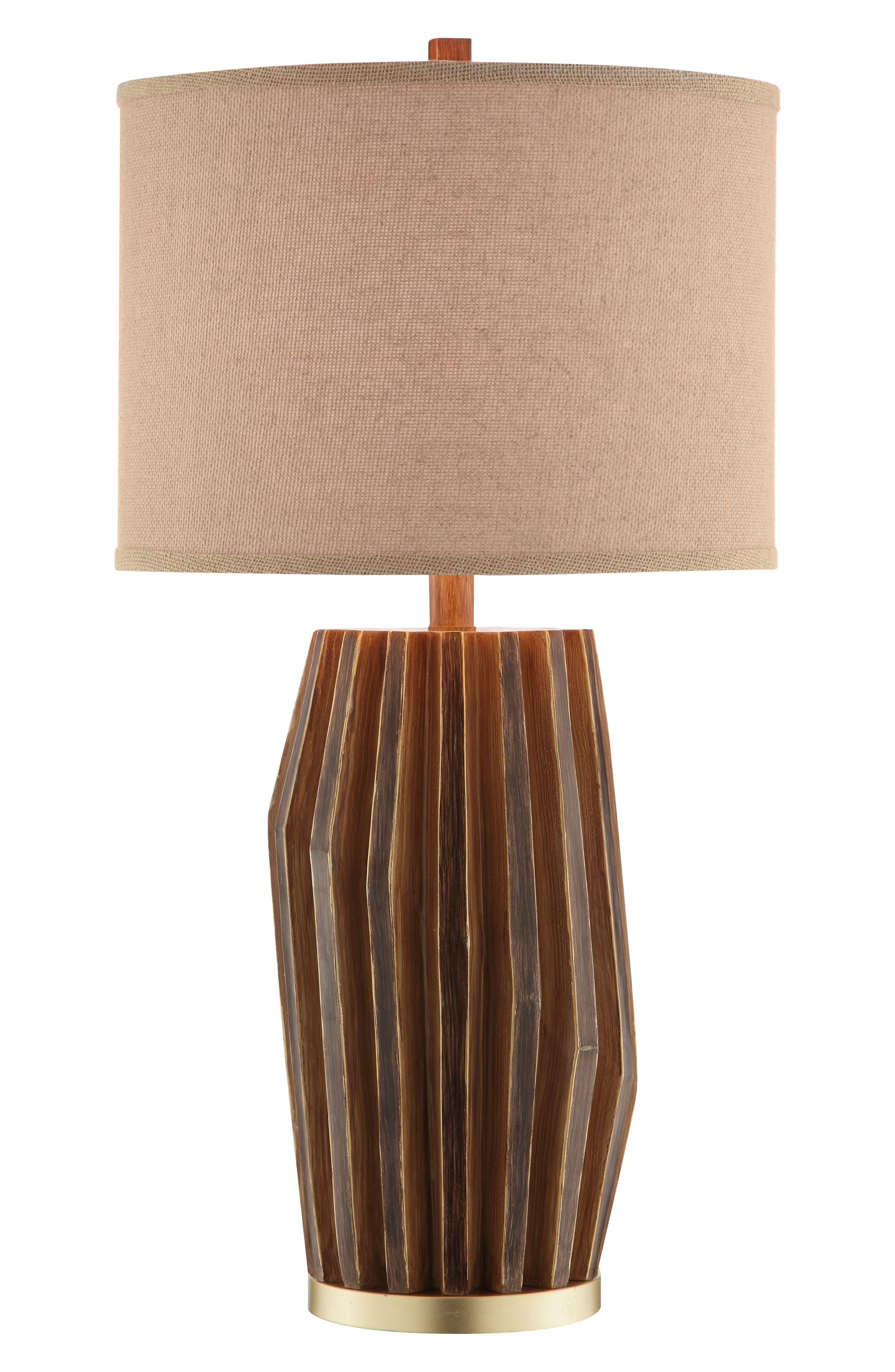 JAlexander Easton Table Lamp,                             Main thumbnail 1, color,                             Wood