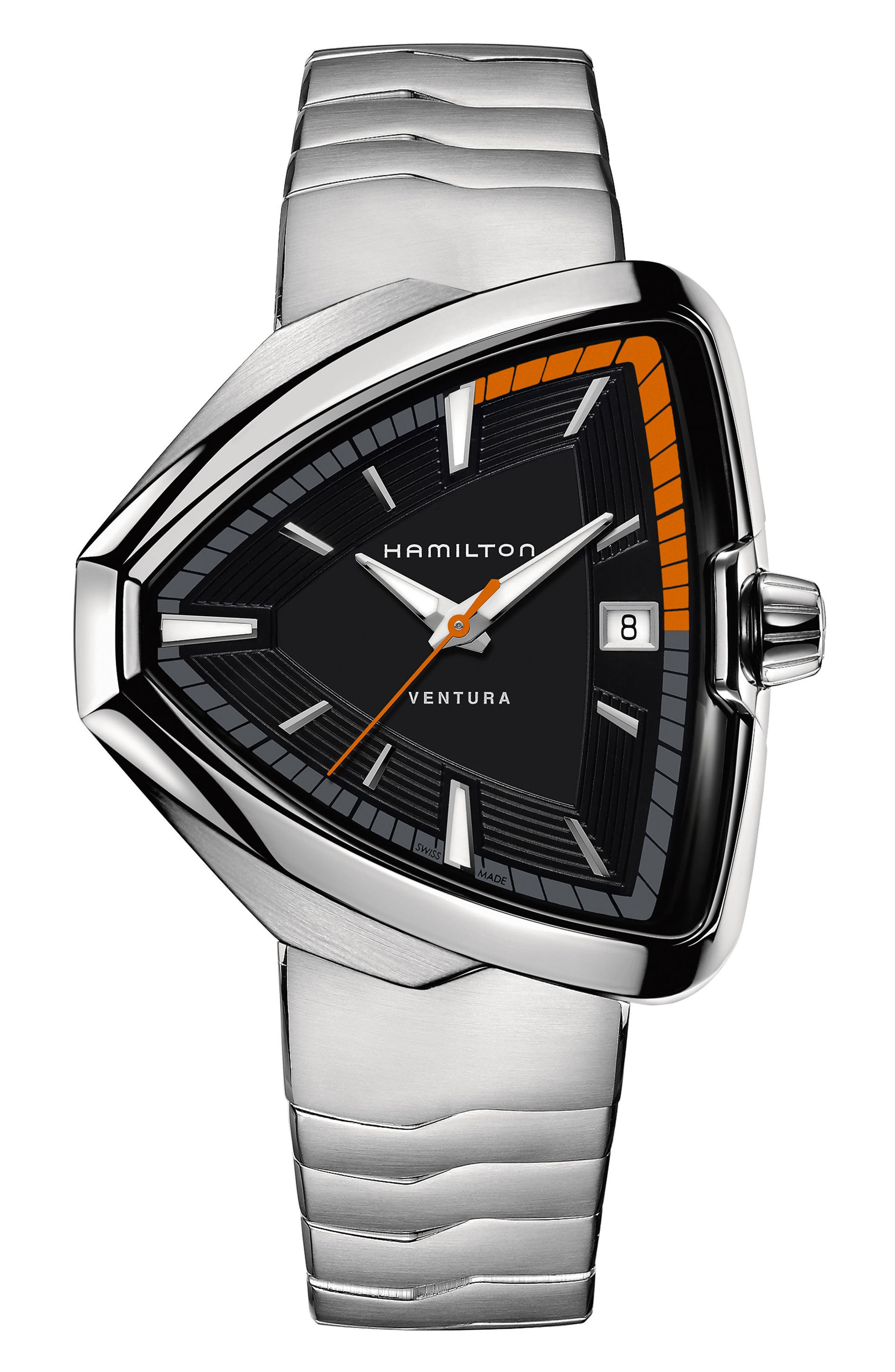 Main Image - Hamilton Ventura Elvis80 Bracelet Watch, 42.5mm x 44.5mm