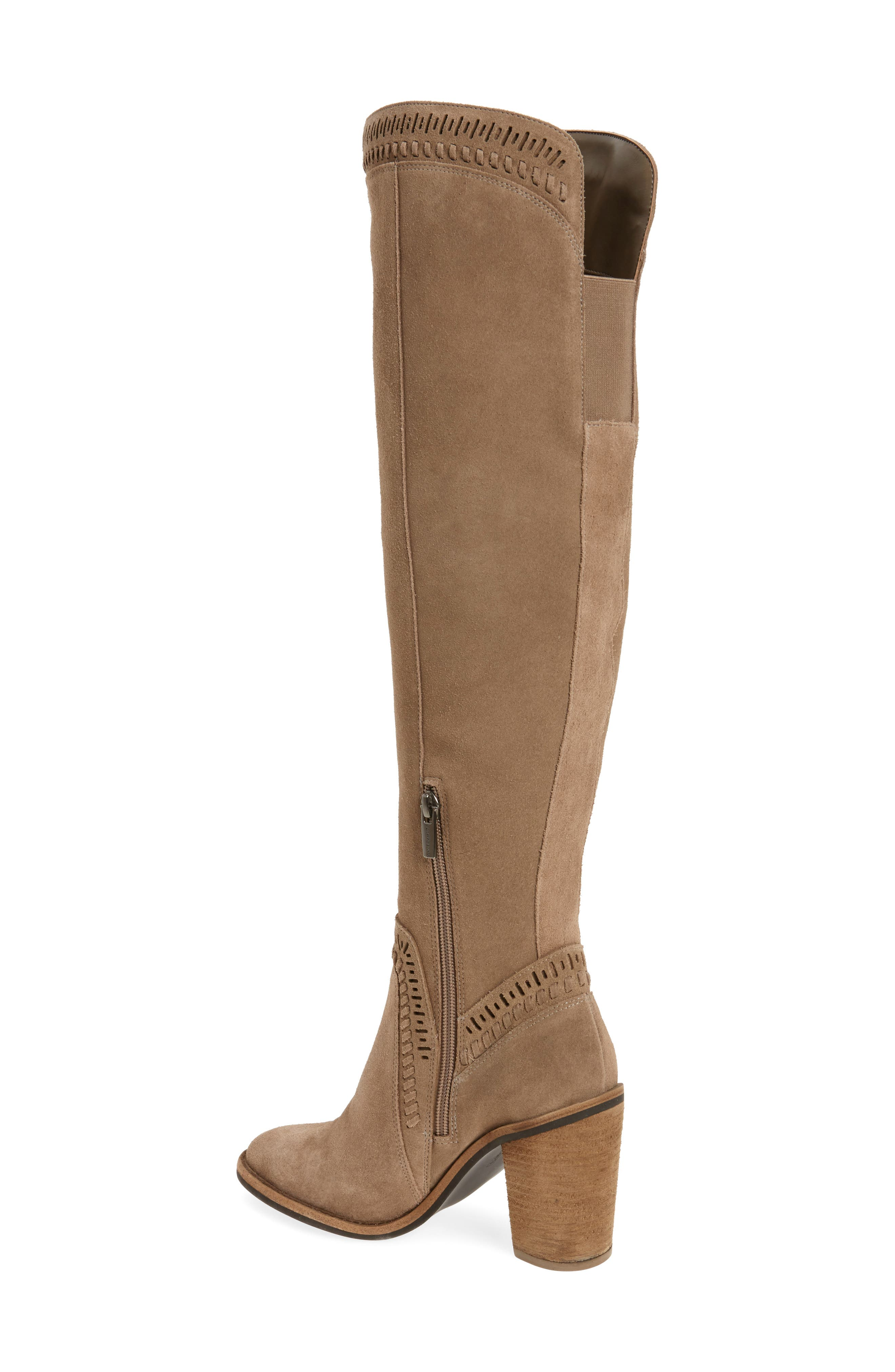 Madolee Over the Knee Boot,                             Alternate thumbnail 2, color,                             Foxy
