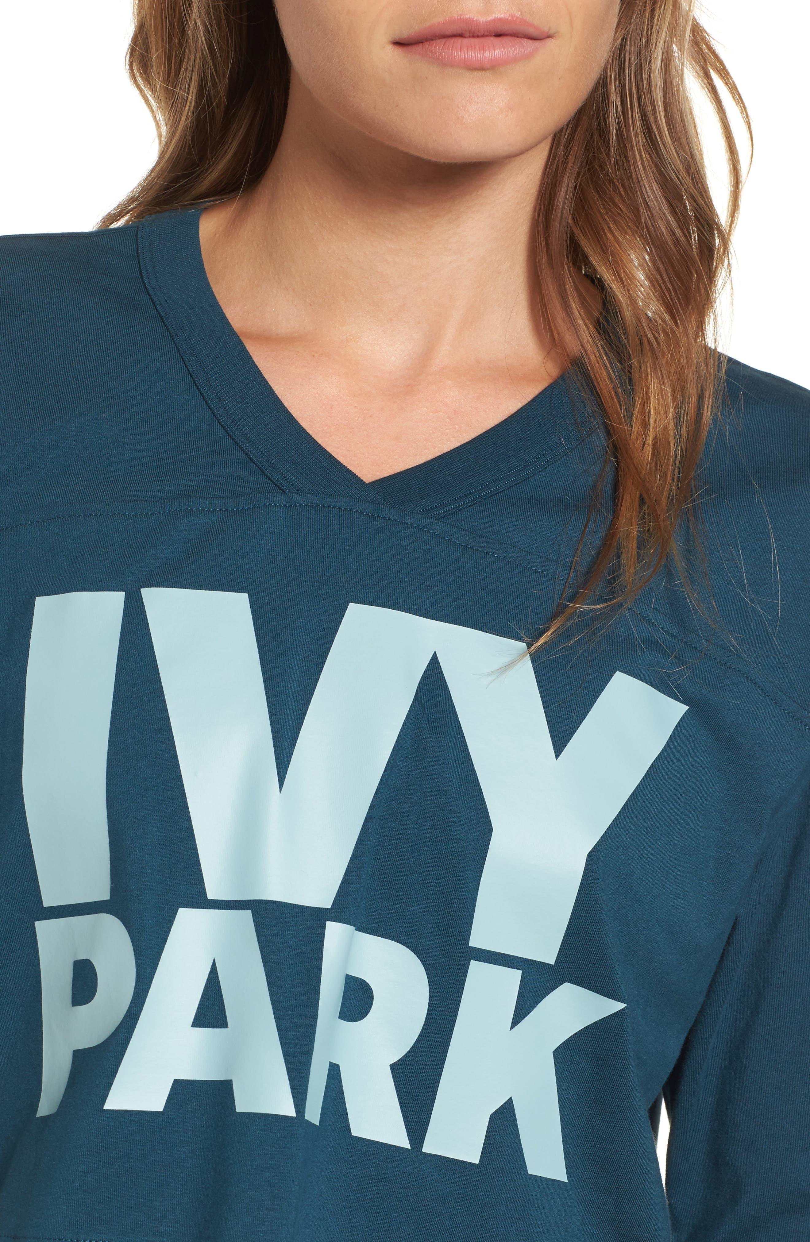 Alternate Image 4  - IVY PARK® Logo Crop Tee